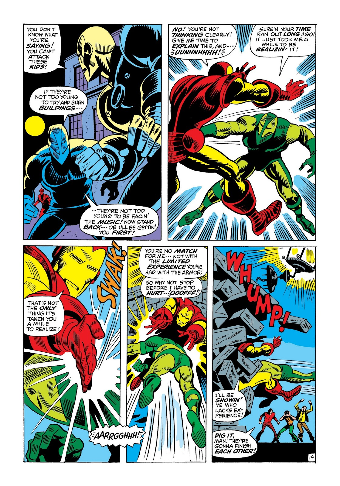 Read online Marvel Masterworks: The Invincible Iron Man comic -  Issue # TPB 8 (Part 2) - 58