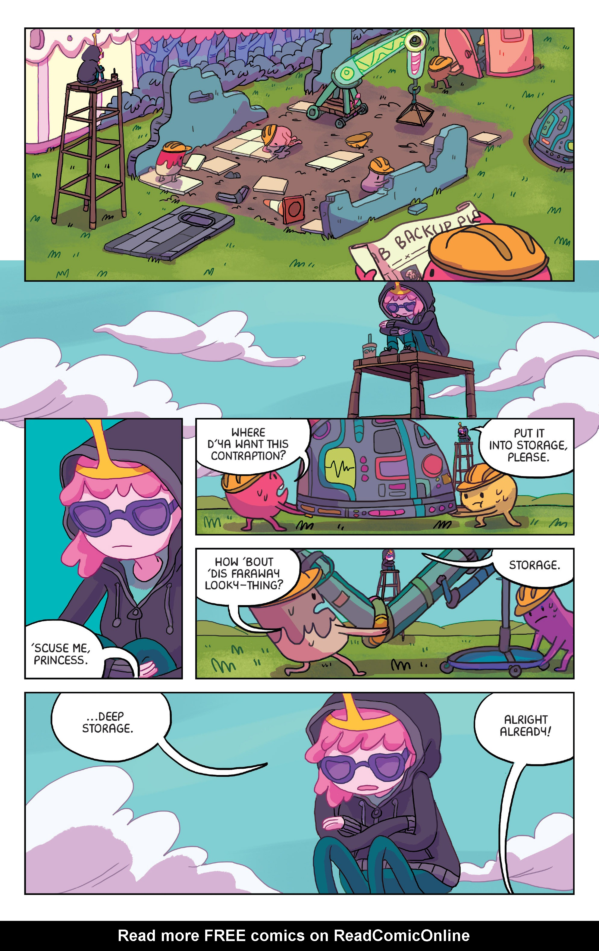 Read online Adventure Time: Marceline Gone Adrift comic -  Issue #2 - 7