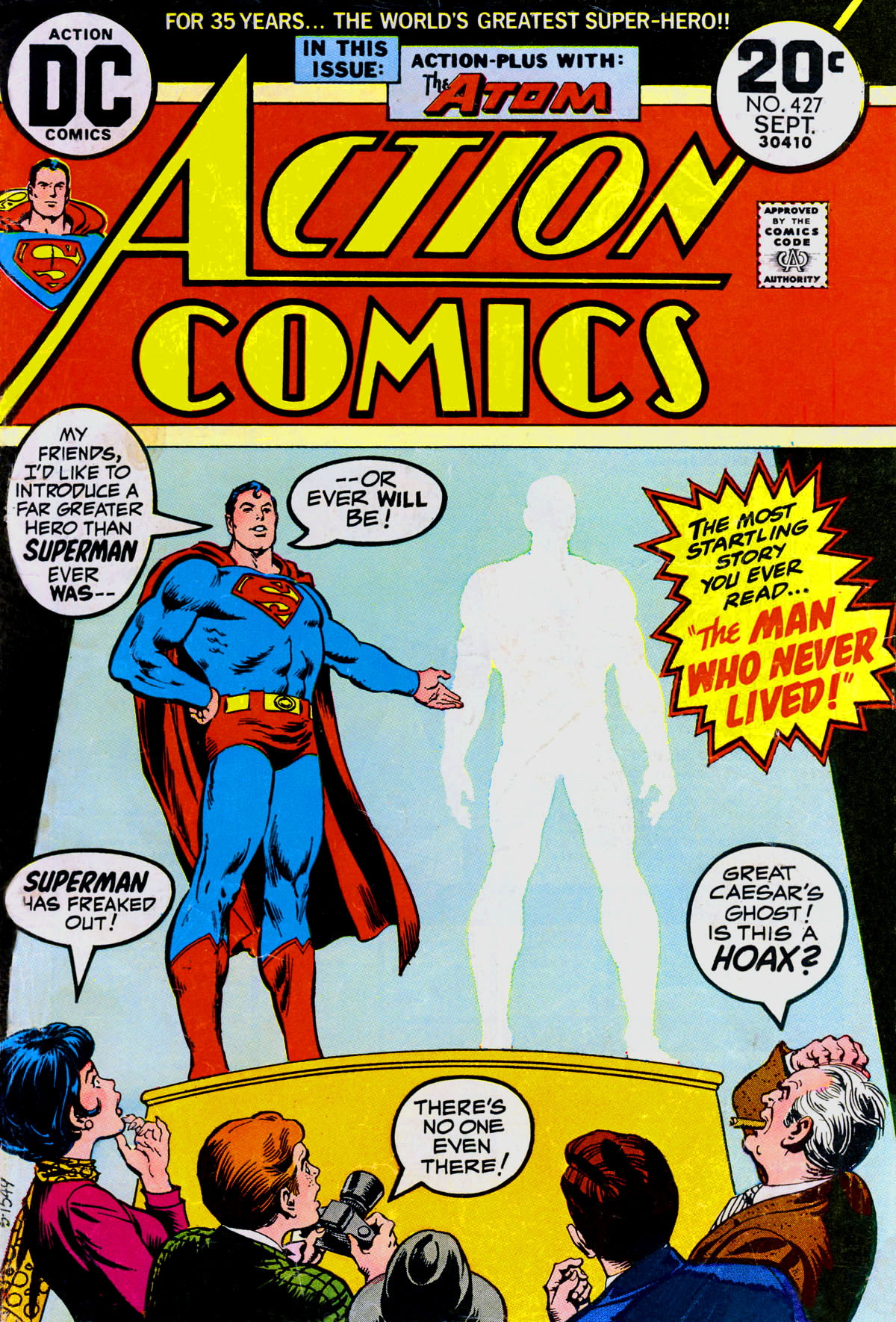 Read online Action Comics (1938) comic -  Issue #427 - 1