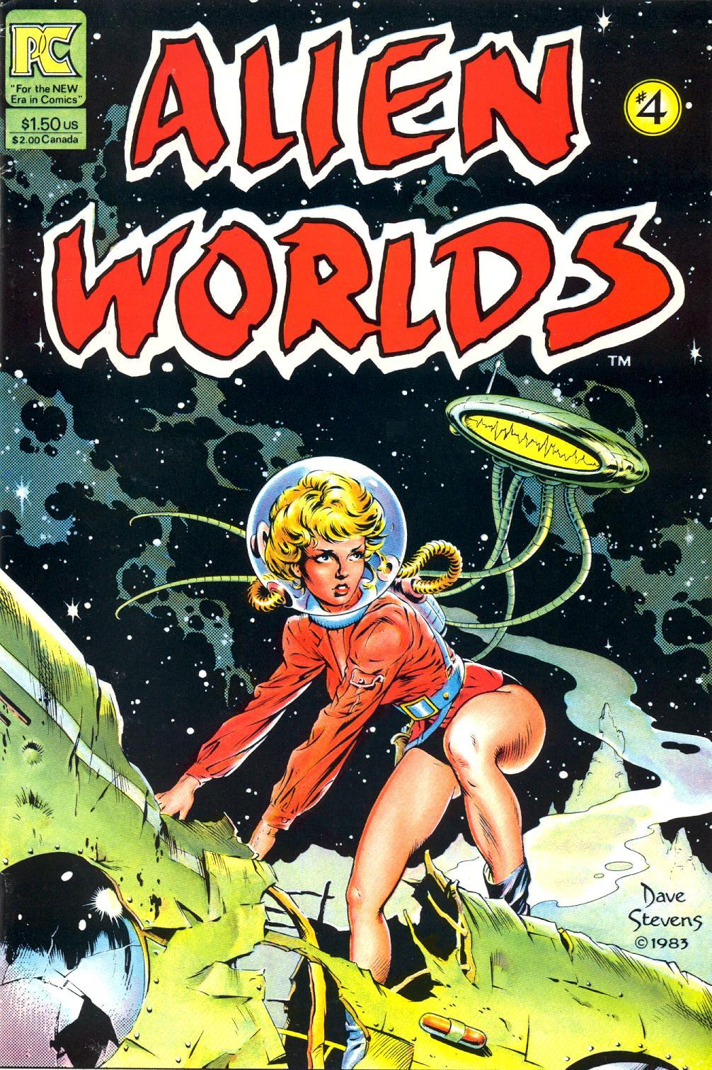 Alien Worlds 4 Page 1