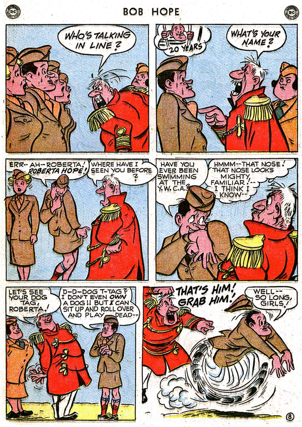 The Adventures of Bob Hope issue 8 - Page 22