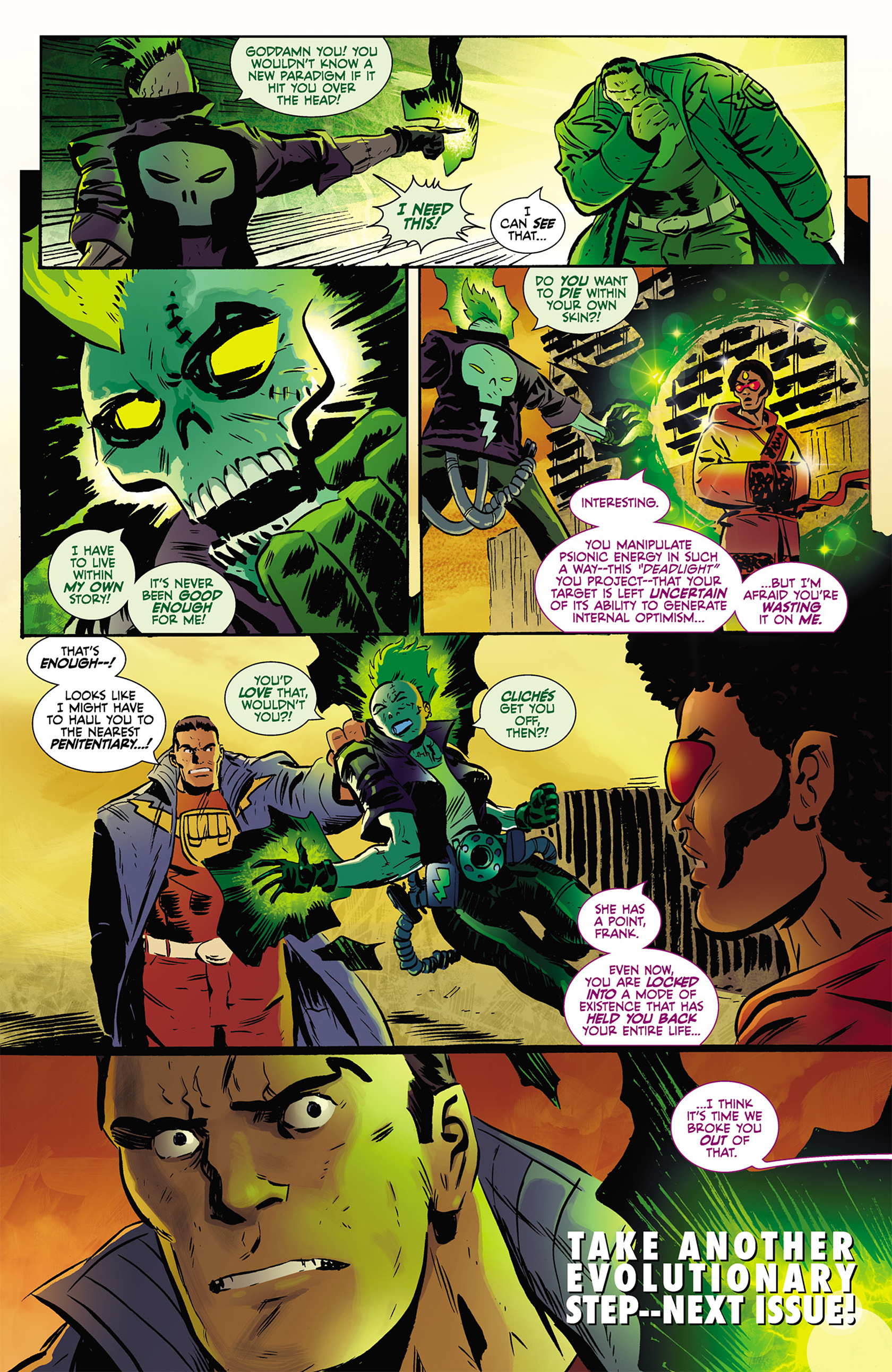Read online Catalyst Comix comic -  Issue #2 - 16