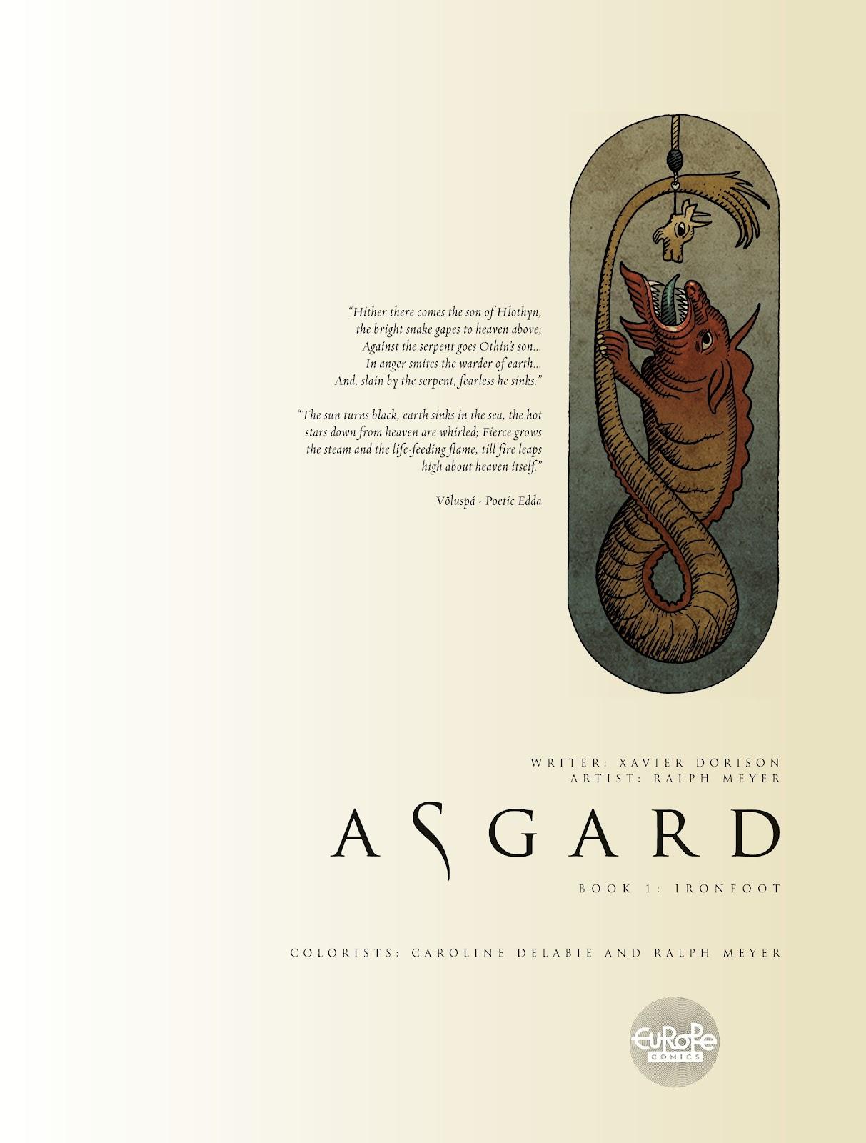 Read online Asgard comic -  Issue #1 - 3