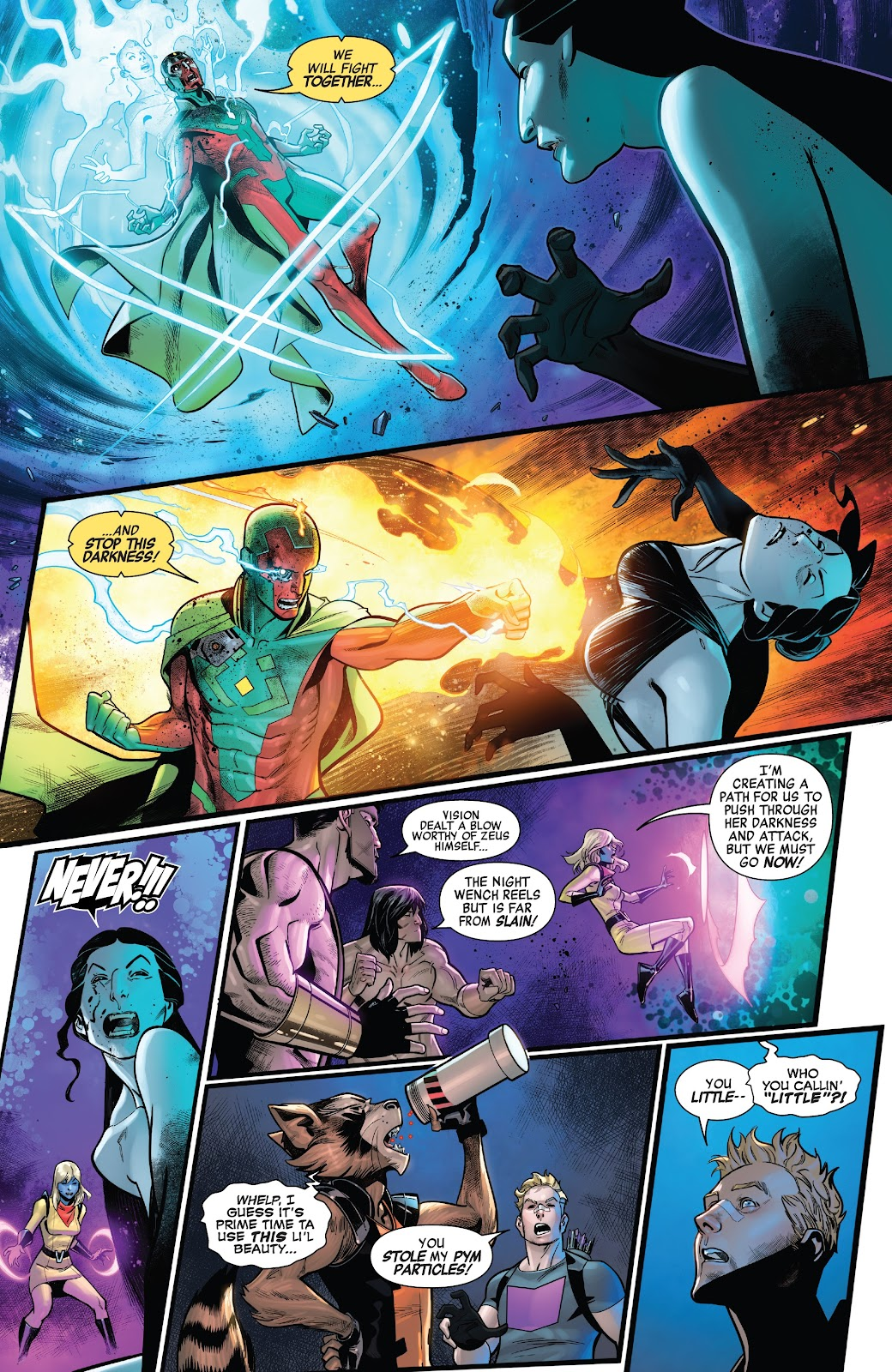 Read online Avengers No Road Home comic -  Issue #9 - 12
