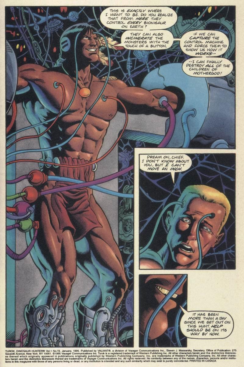 Read online Turok, Dinosaur Hunter (1993) comic -  Issue #19 - 4