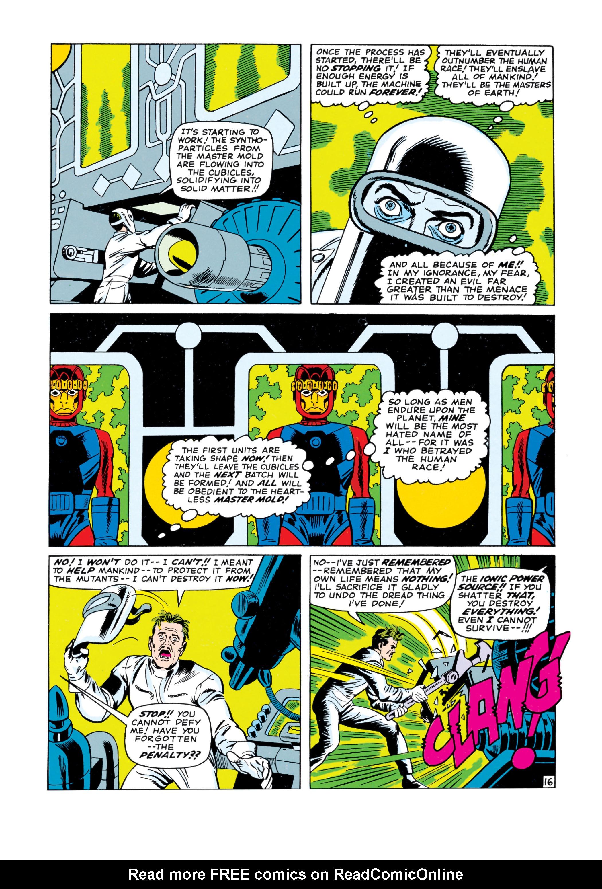 Read online Uncanny X-Men (1963) comic -  Issue #16 - 17
