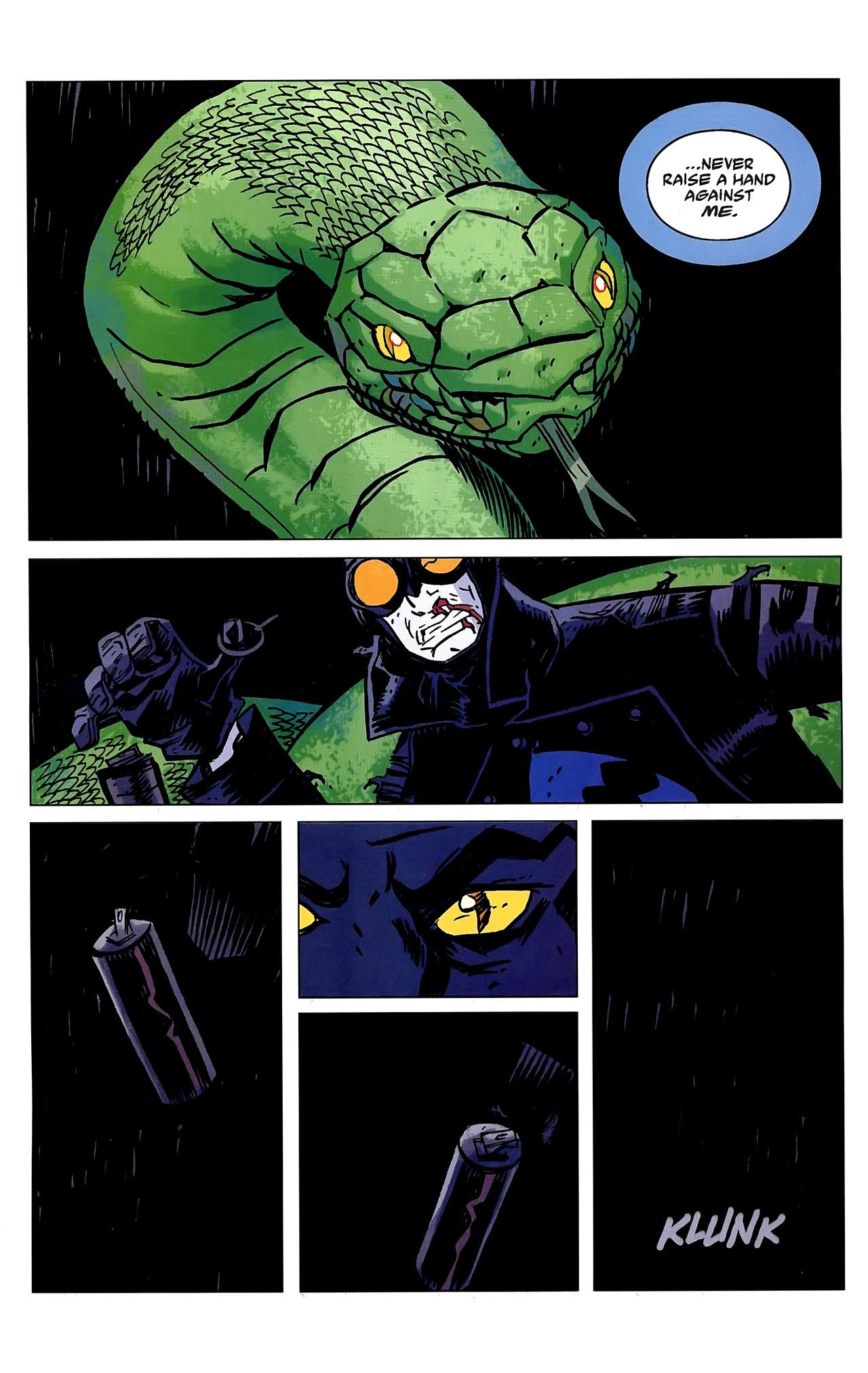 Read online Lobster Johnson: The Iron Prometheus comic -  Issue #2 - 22