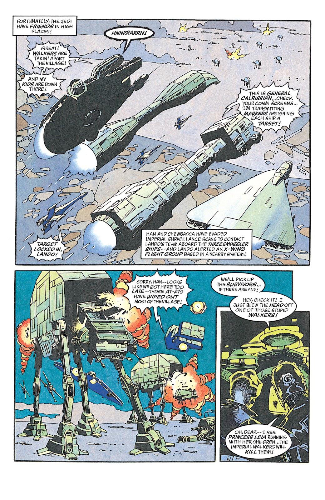 Read online Star Wars: Dark Empire Trilogy comic -  Issue # TPB (Part 4) - 1