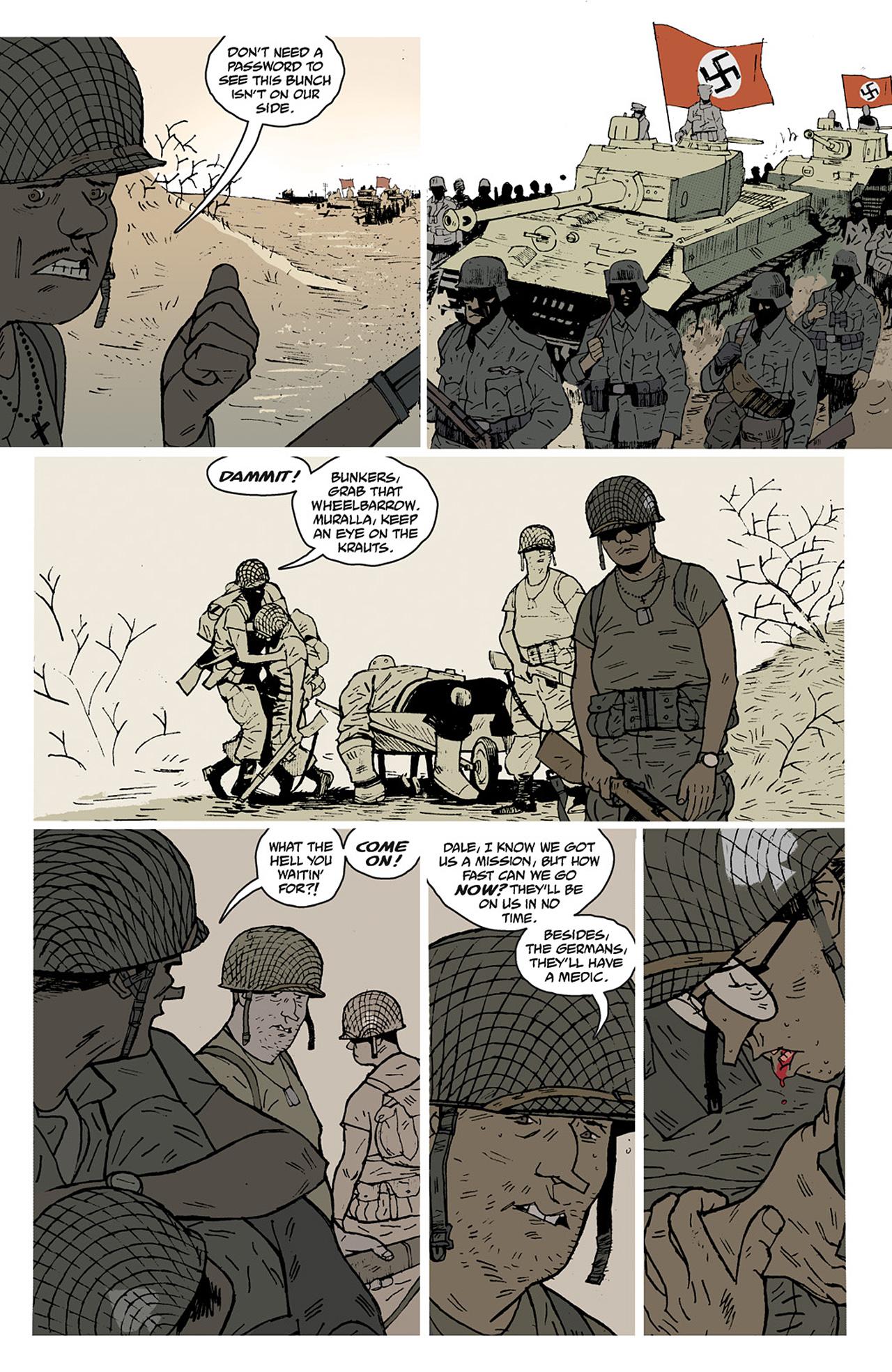 Read online Sledgehammer 44 comic -  Issue #2 - 8