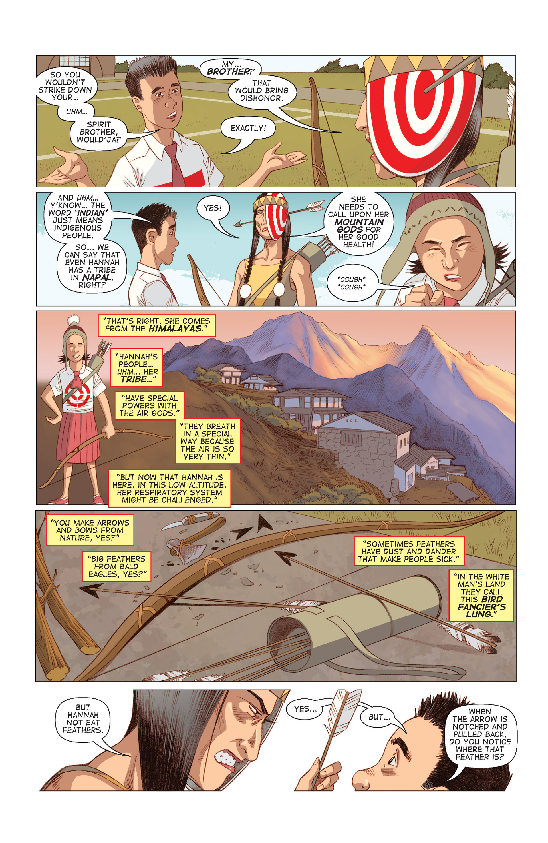 Read online Five Weapons comic -  Issue #8 - 5