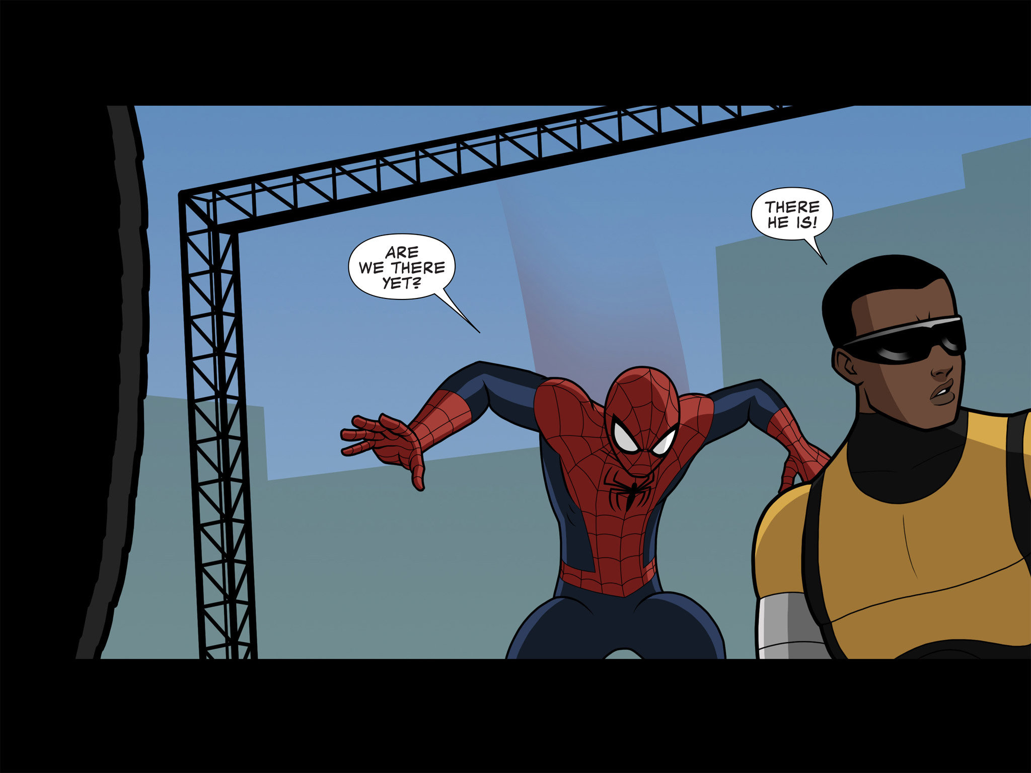 Read online Ultimate Spider-Man (Infinite Comics) (2015) comic -  Issue #10 - 33