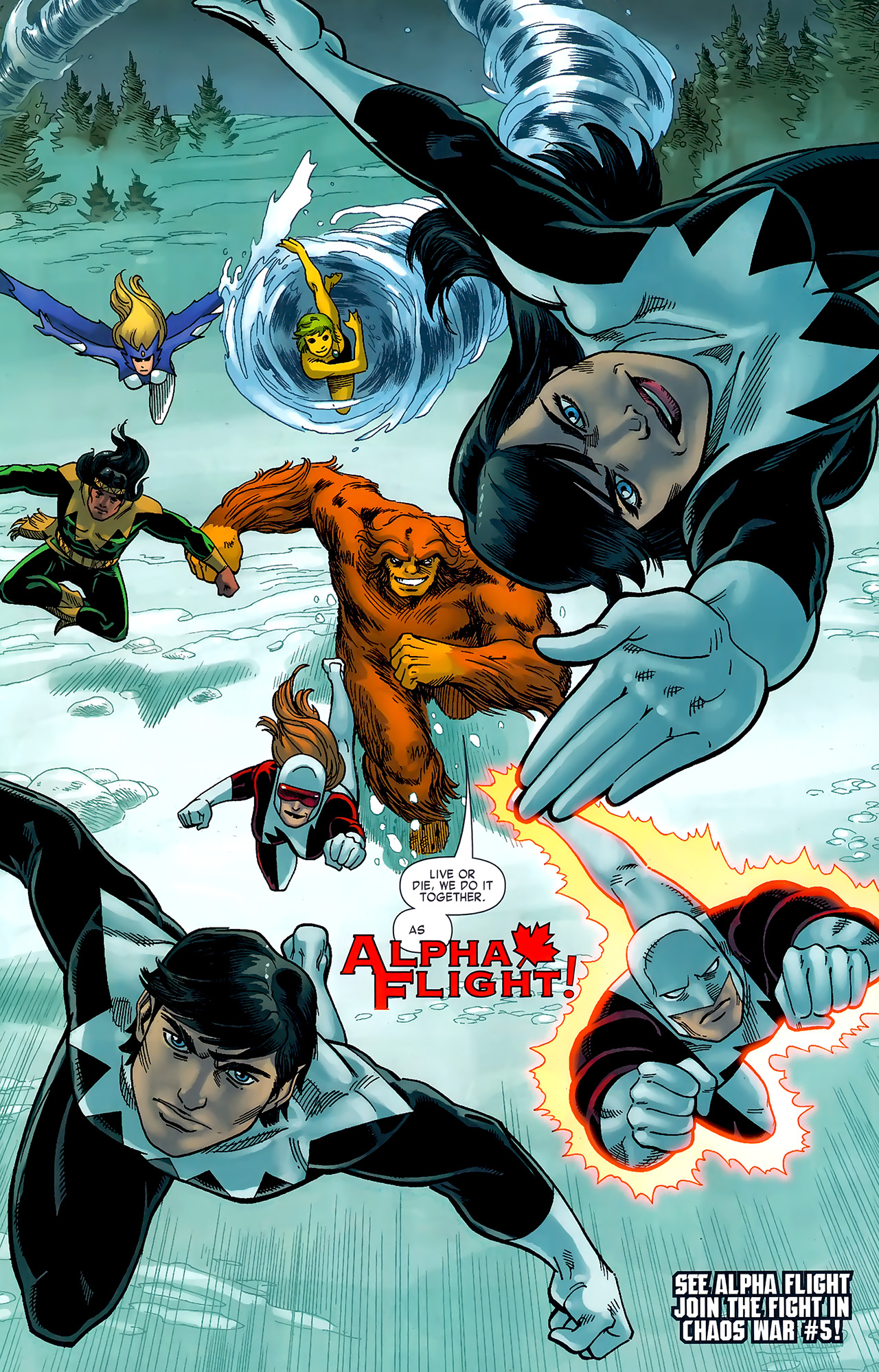 Read online Chaos War: Alpha Flight comic -  Issue # Full - 23