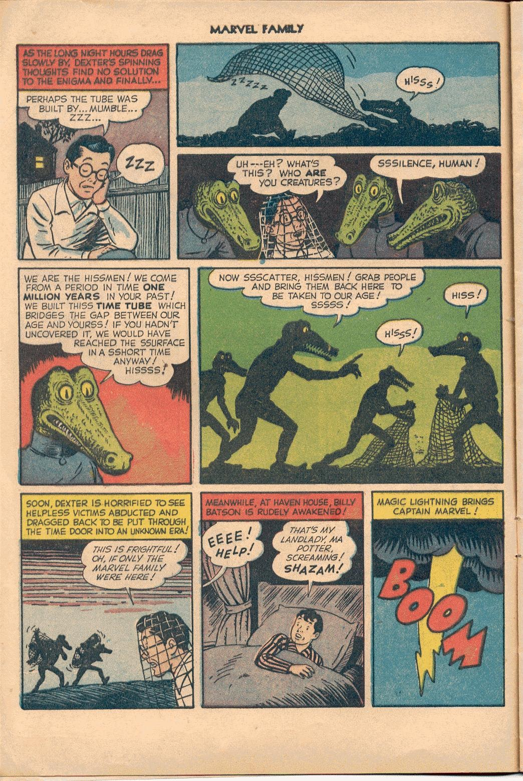 The Marvel Family issue 74 - Page 8