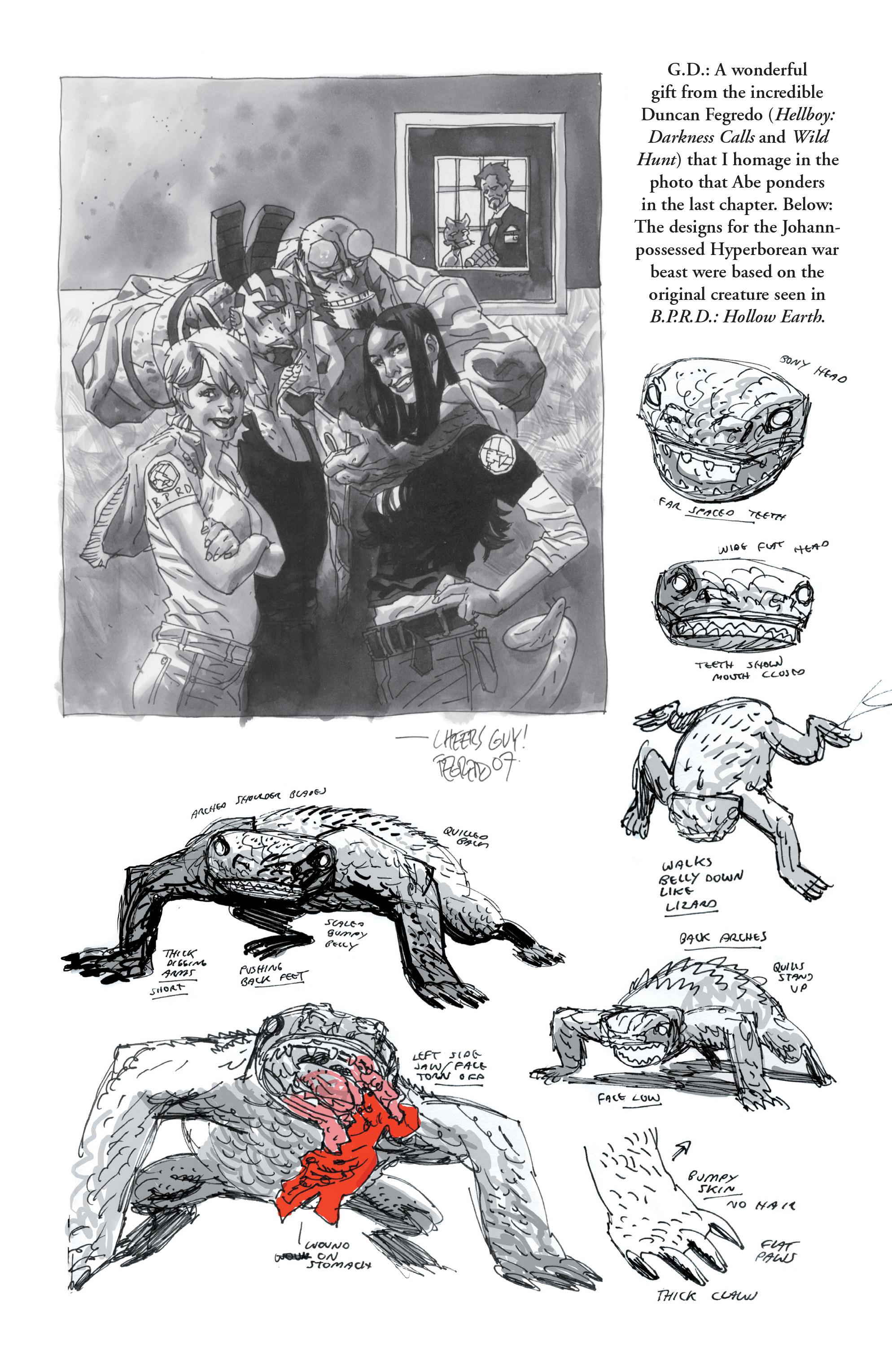 Read online B.P.R.D. (2003) comic -  Issue # TPB 10 - 142
