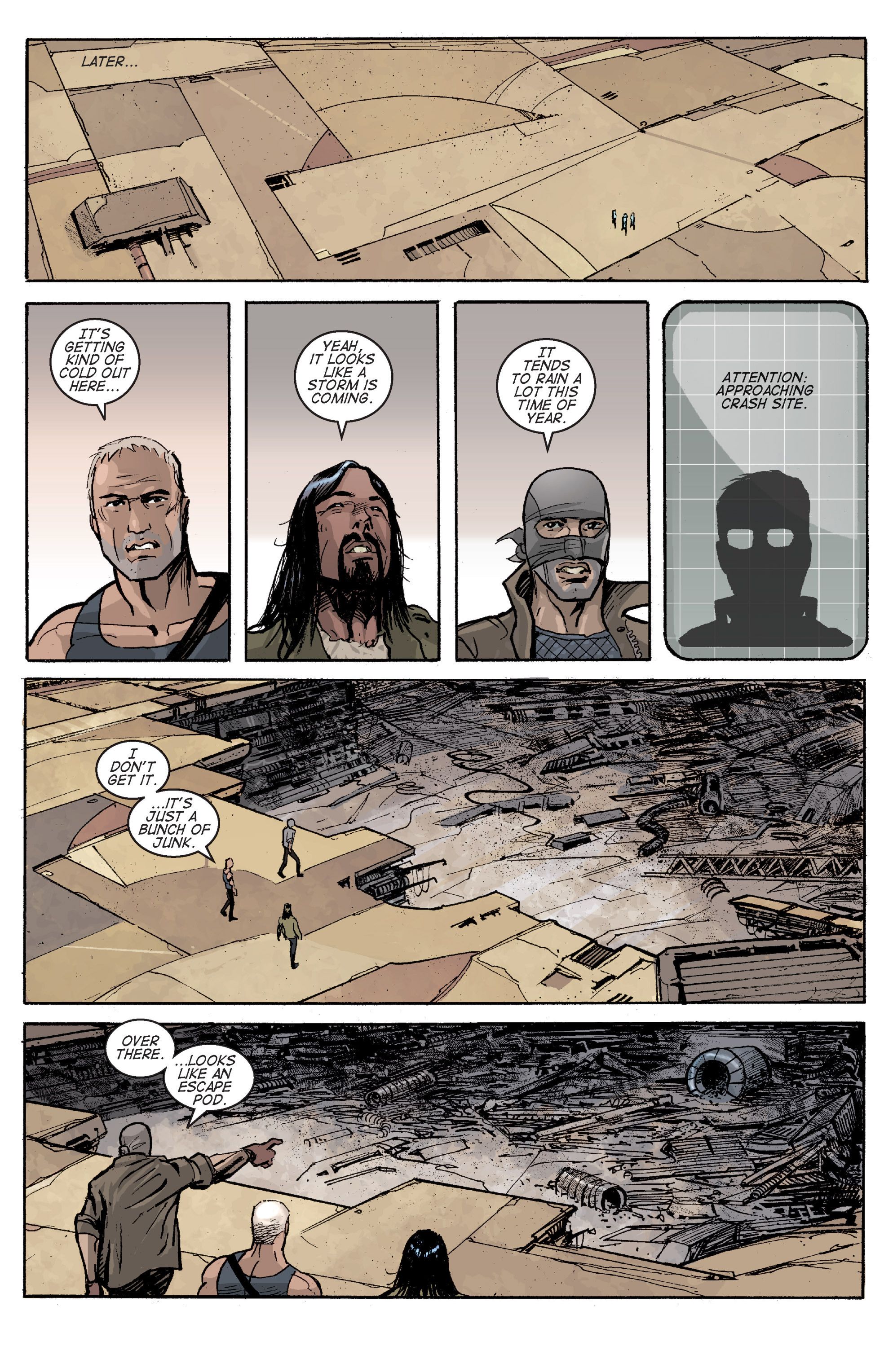 Read online Planetoid comic -  Issue # TPB - 112