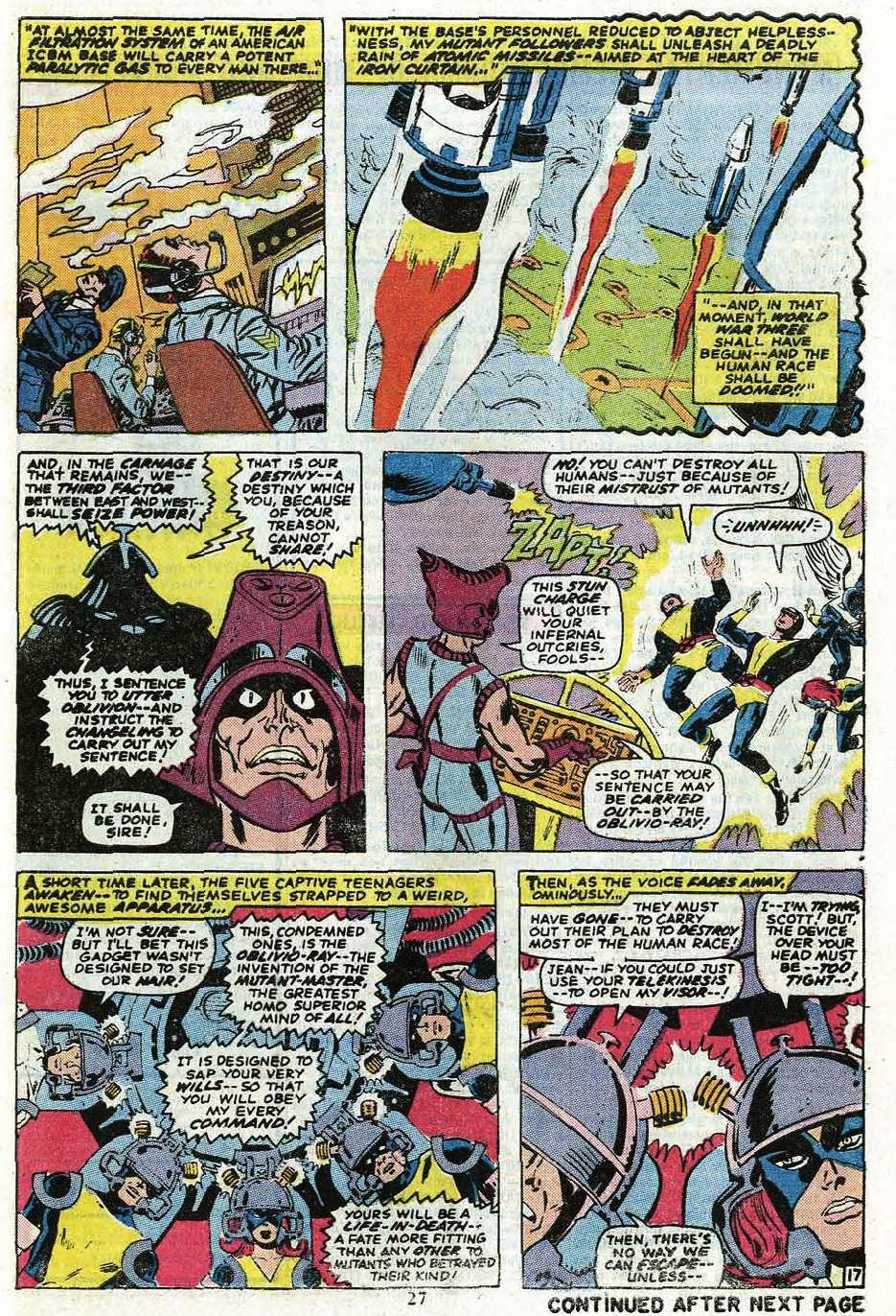Read online Uncanny X-Men (1963) comic -  Issue #85 - 29
