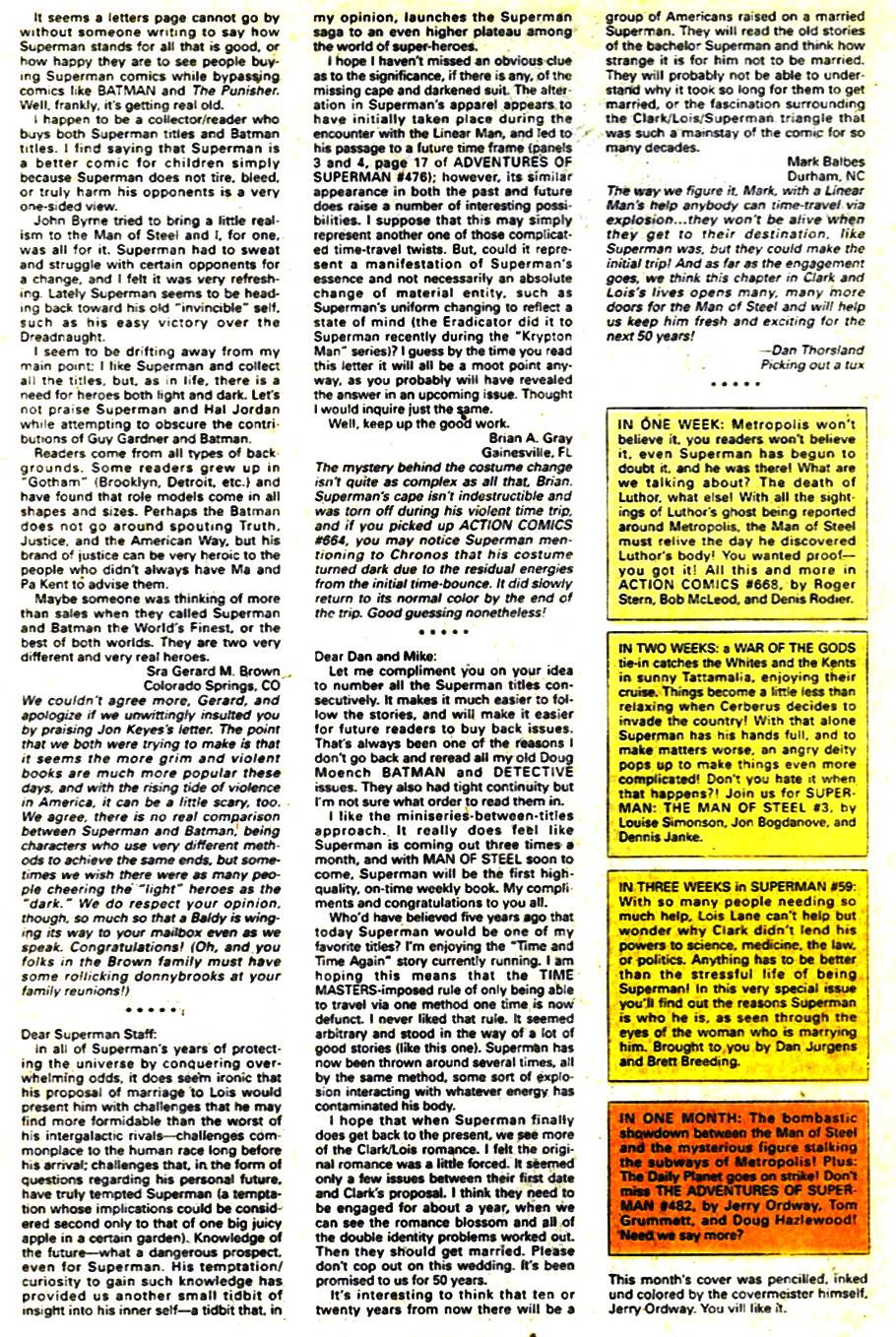 Read online Adventures of Superman (1987) comic -  Issue #481 - 25