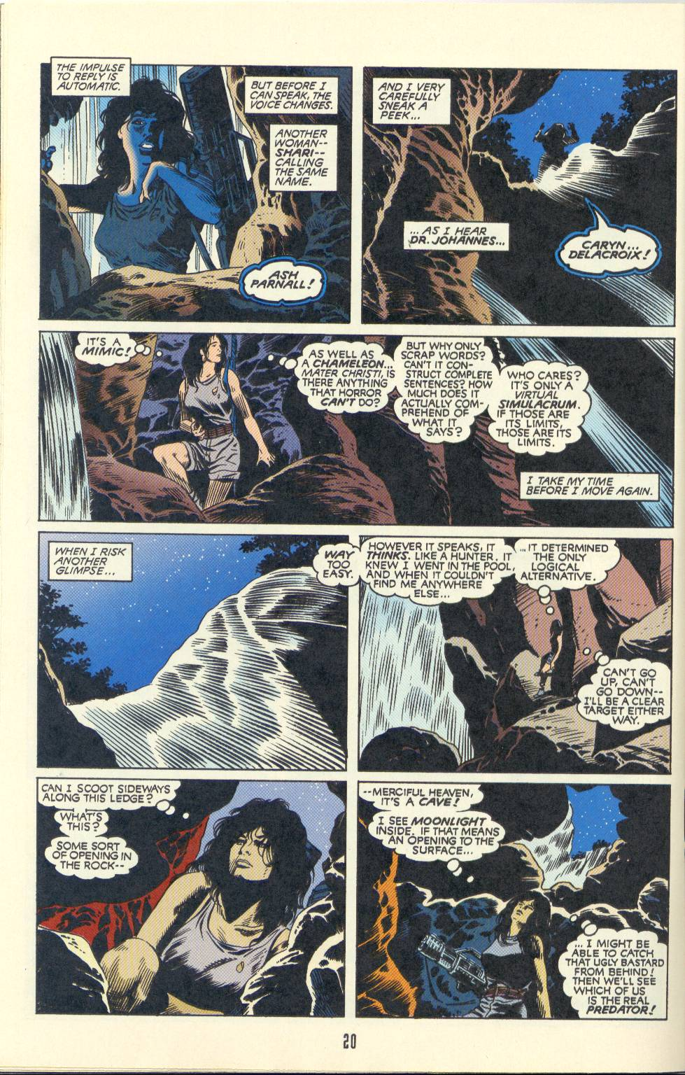 Read online Aliens/Predator: The Deadliest of the Species comic -  Issue #2 - 21