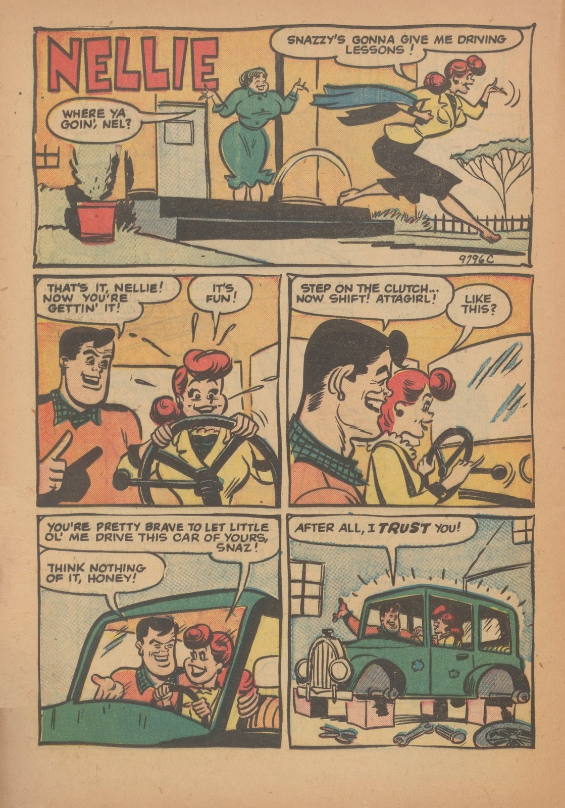 Read online Nellie The Nurse (1945) comic -  Issue #34 - 20