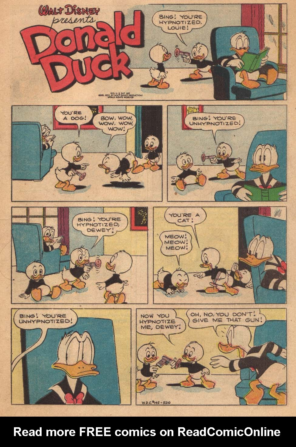 Walt Disney's Comics and Stories issue 145 - Page 3