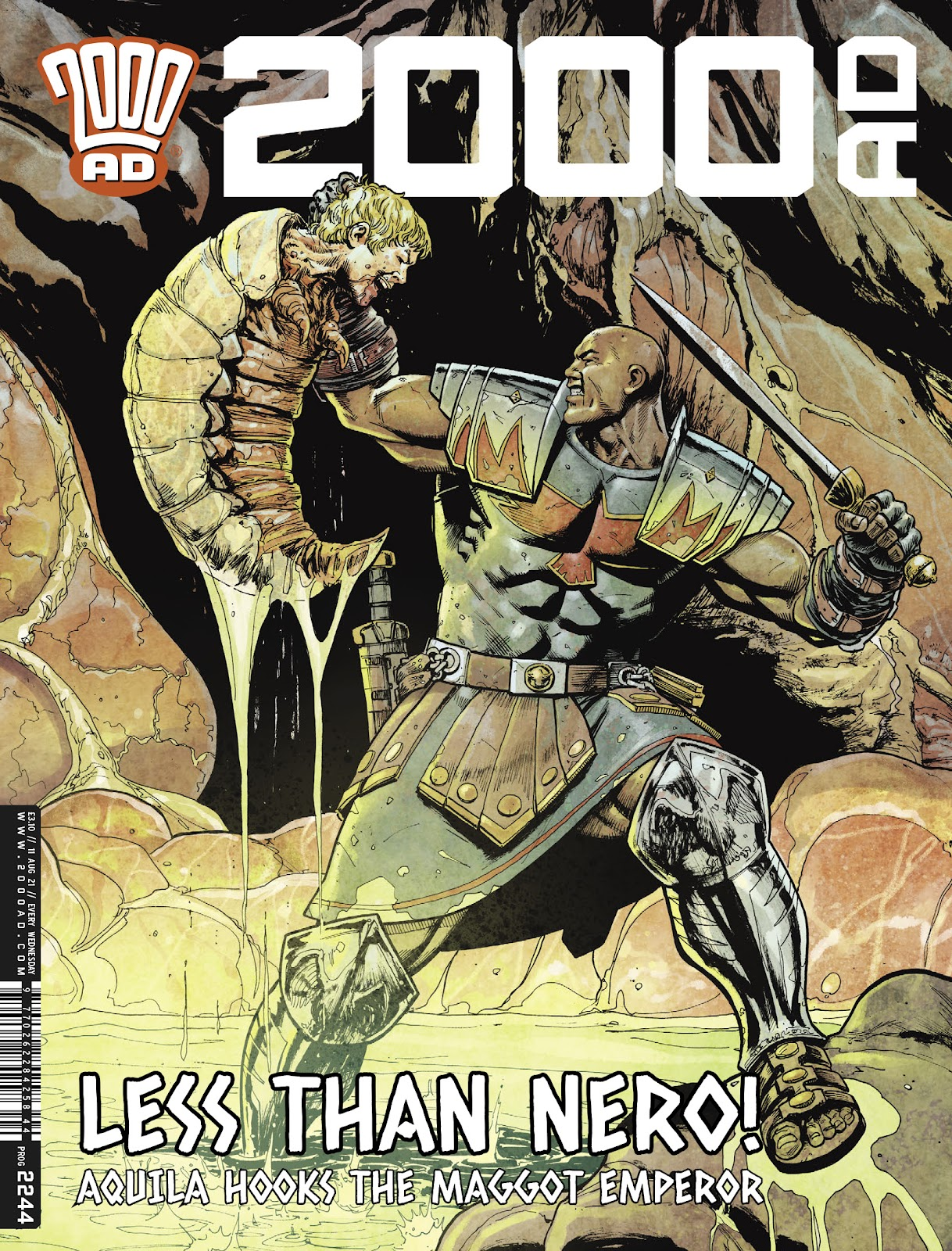 2000 AD issue 2244 - Page 1