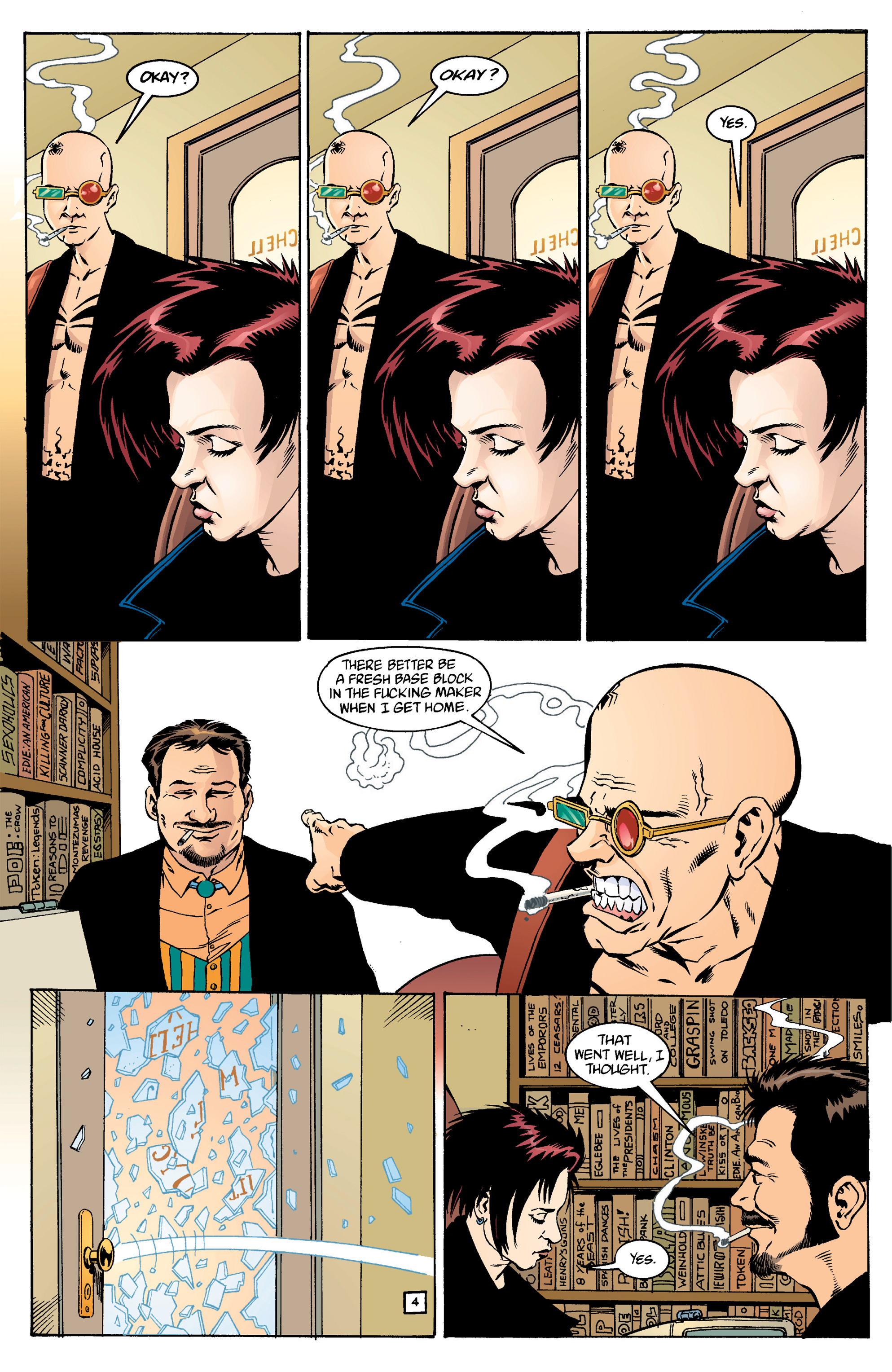 Read online Transmetropolitan comic -  Issue #14 - 5