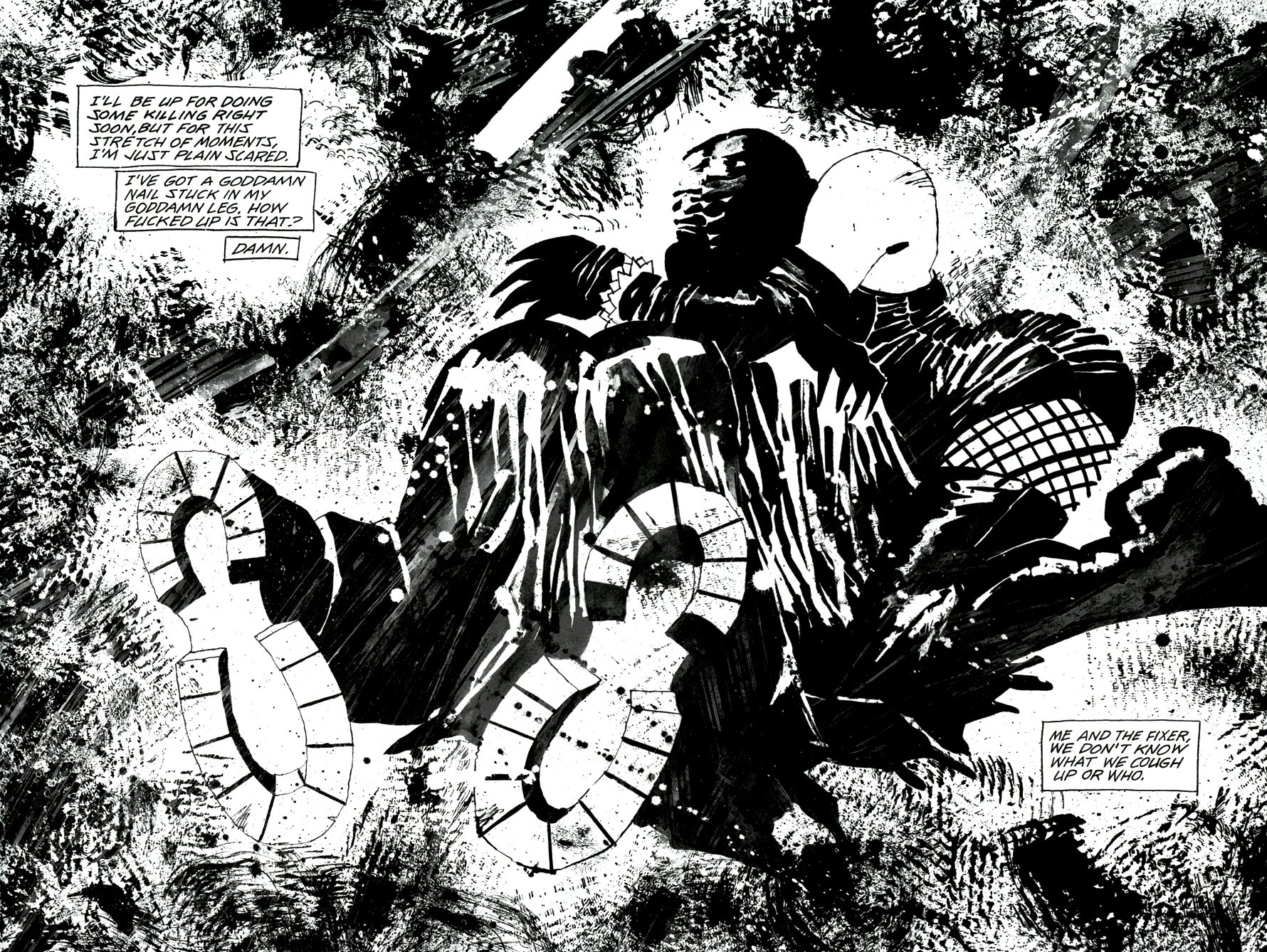 Read online Frank Miller's Holy Terror comic -  Issue # TPB - 46