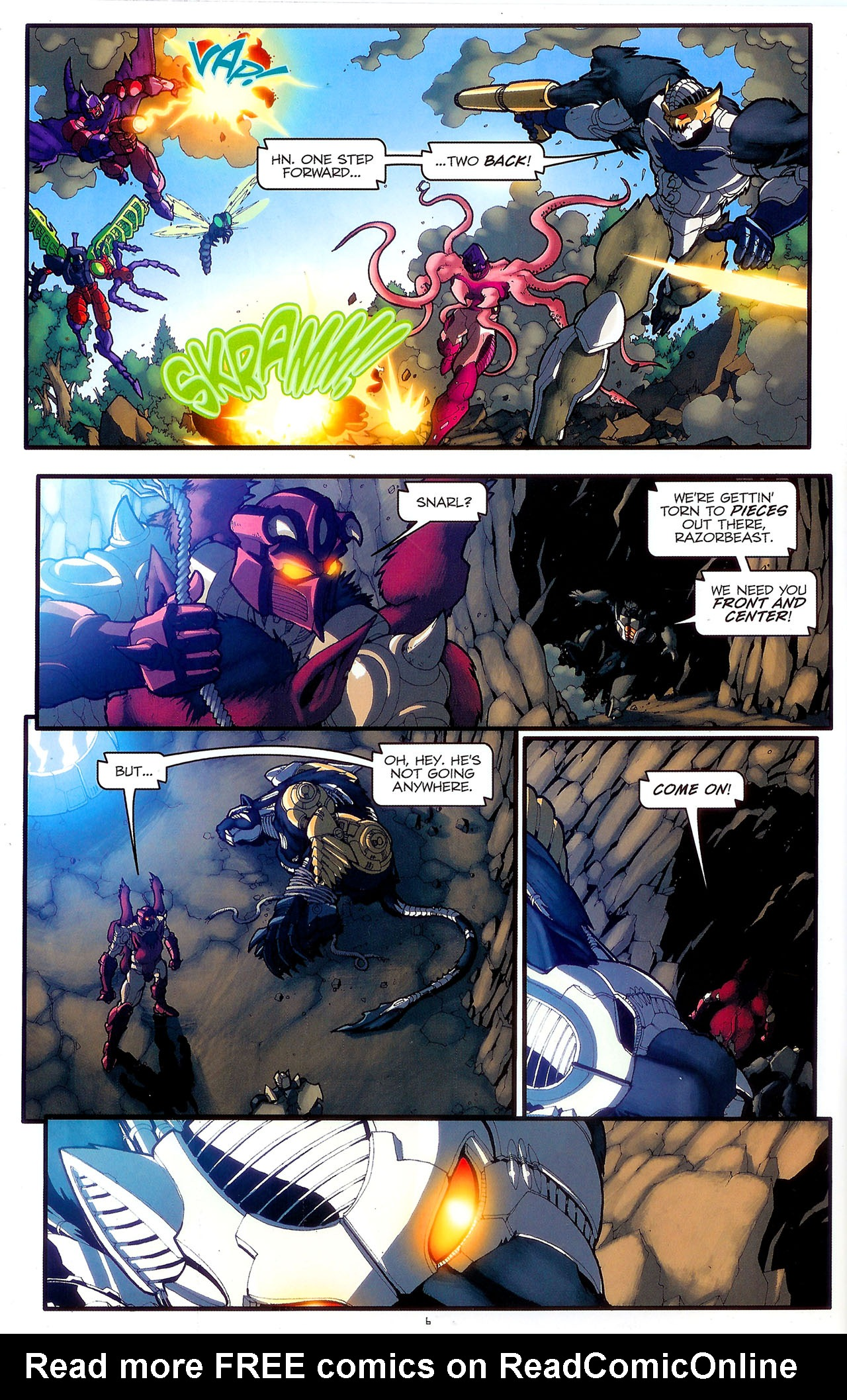 Read online Transformers: Beast Wars: The Ascending comic -  Issue #2 - 9