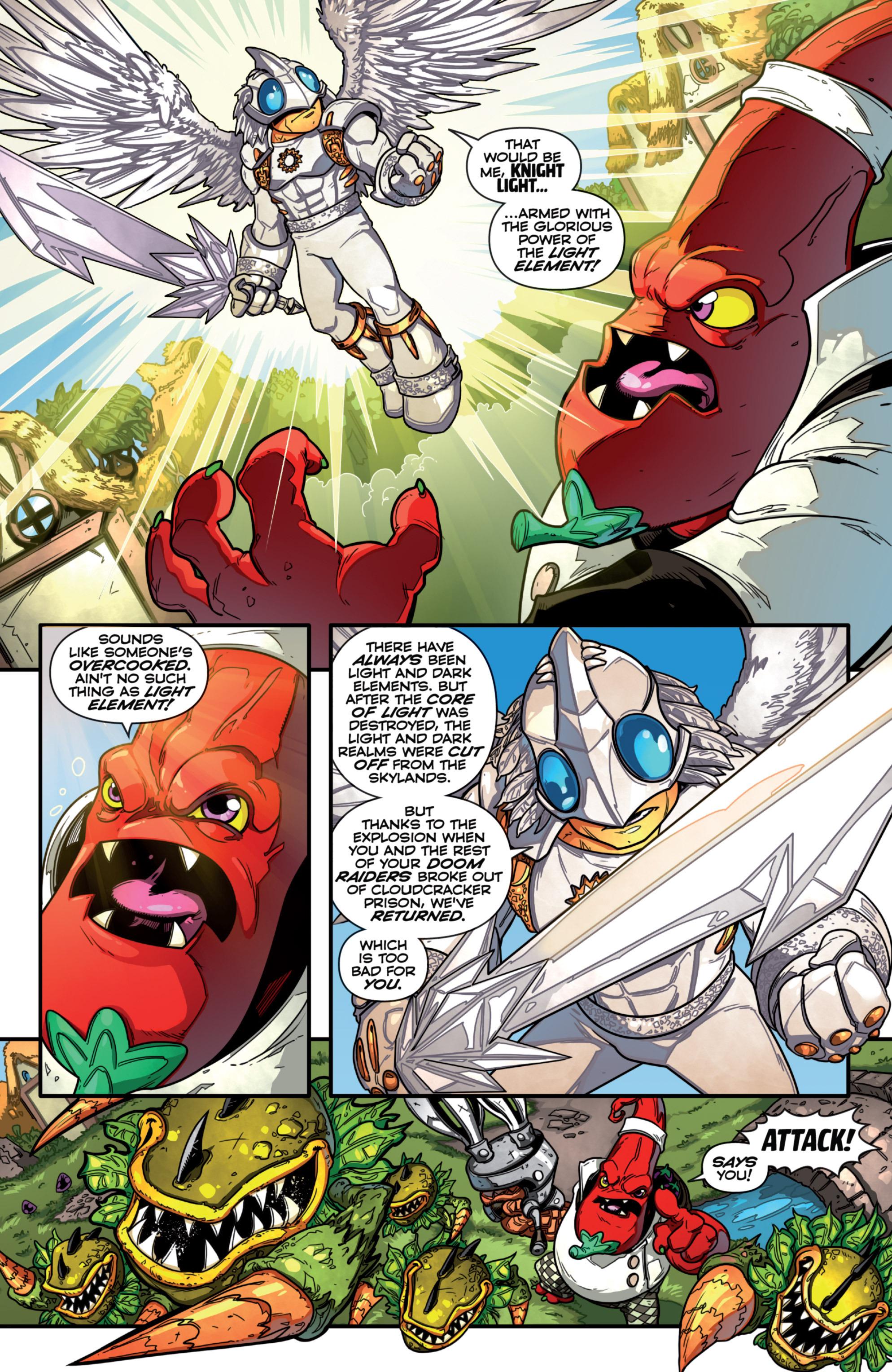 Read online Skylanders comic -  Issue #7 - 20