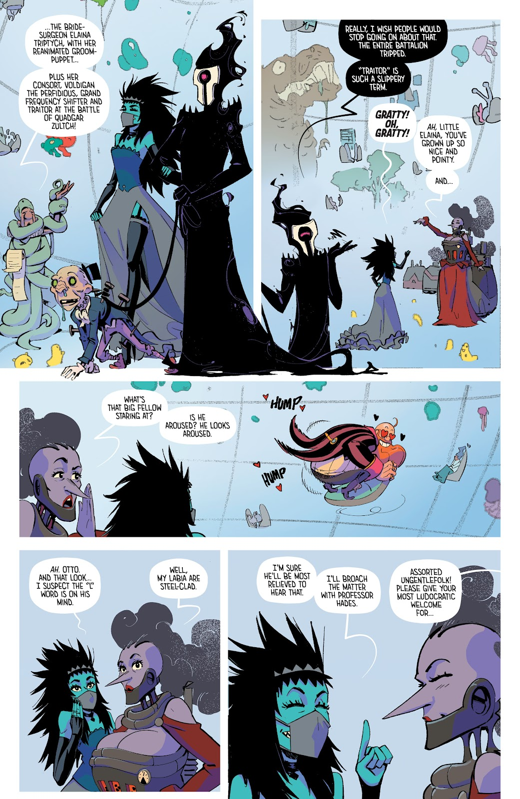 Read online The Ludocrats comic -  Issue #1 - 13