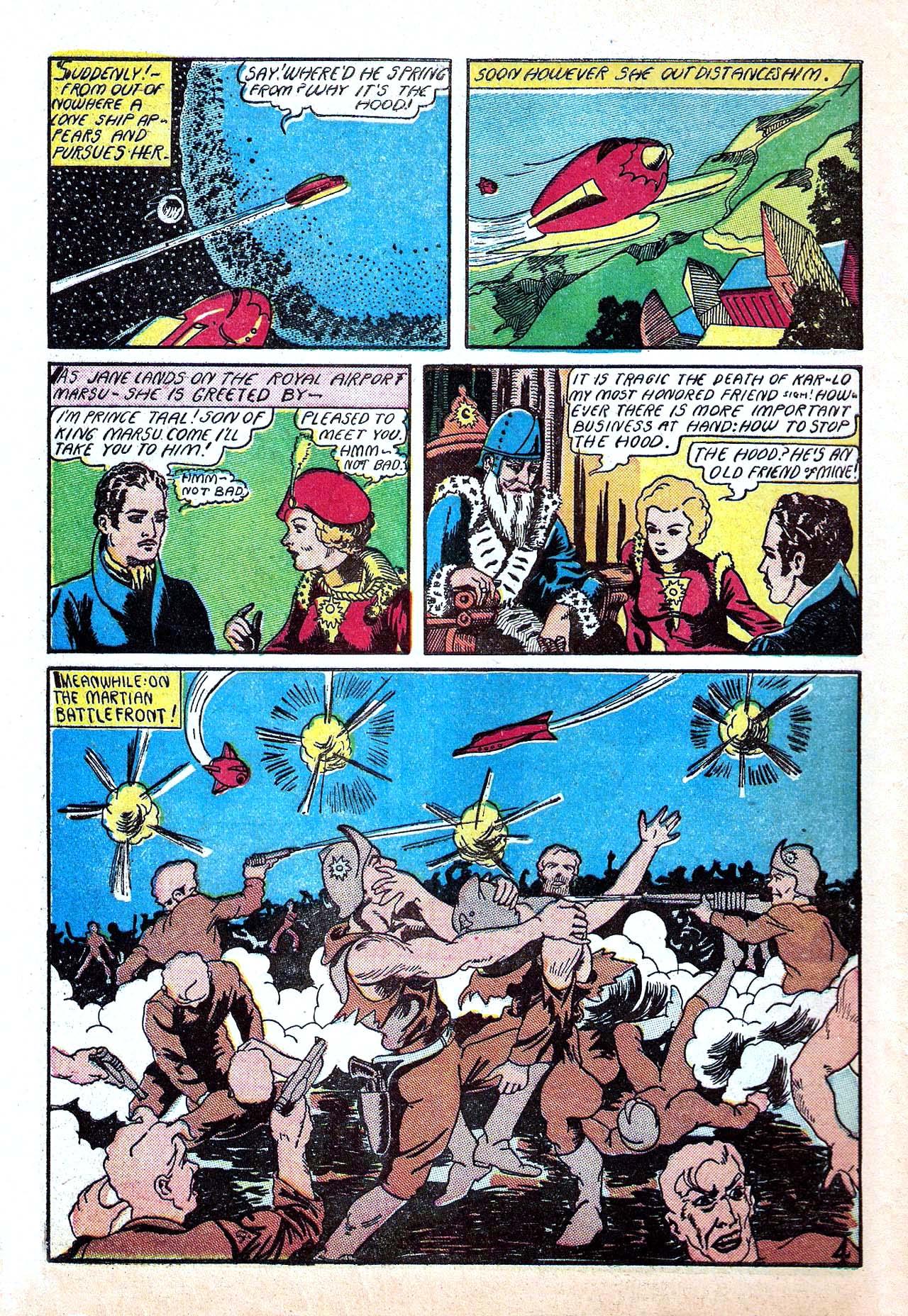 Read online Amazing Man Comics comic -  Issue #11 - 62