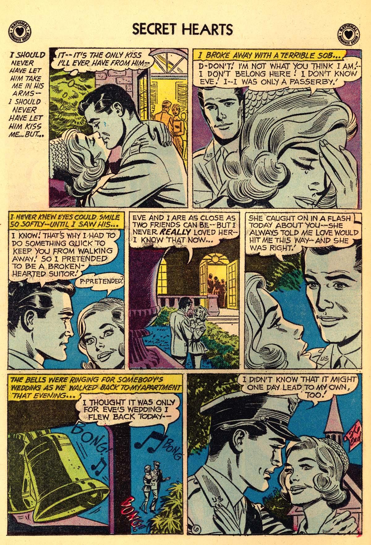 Read online Secret Hearts comic -  Issue #66 - 24