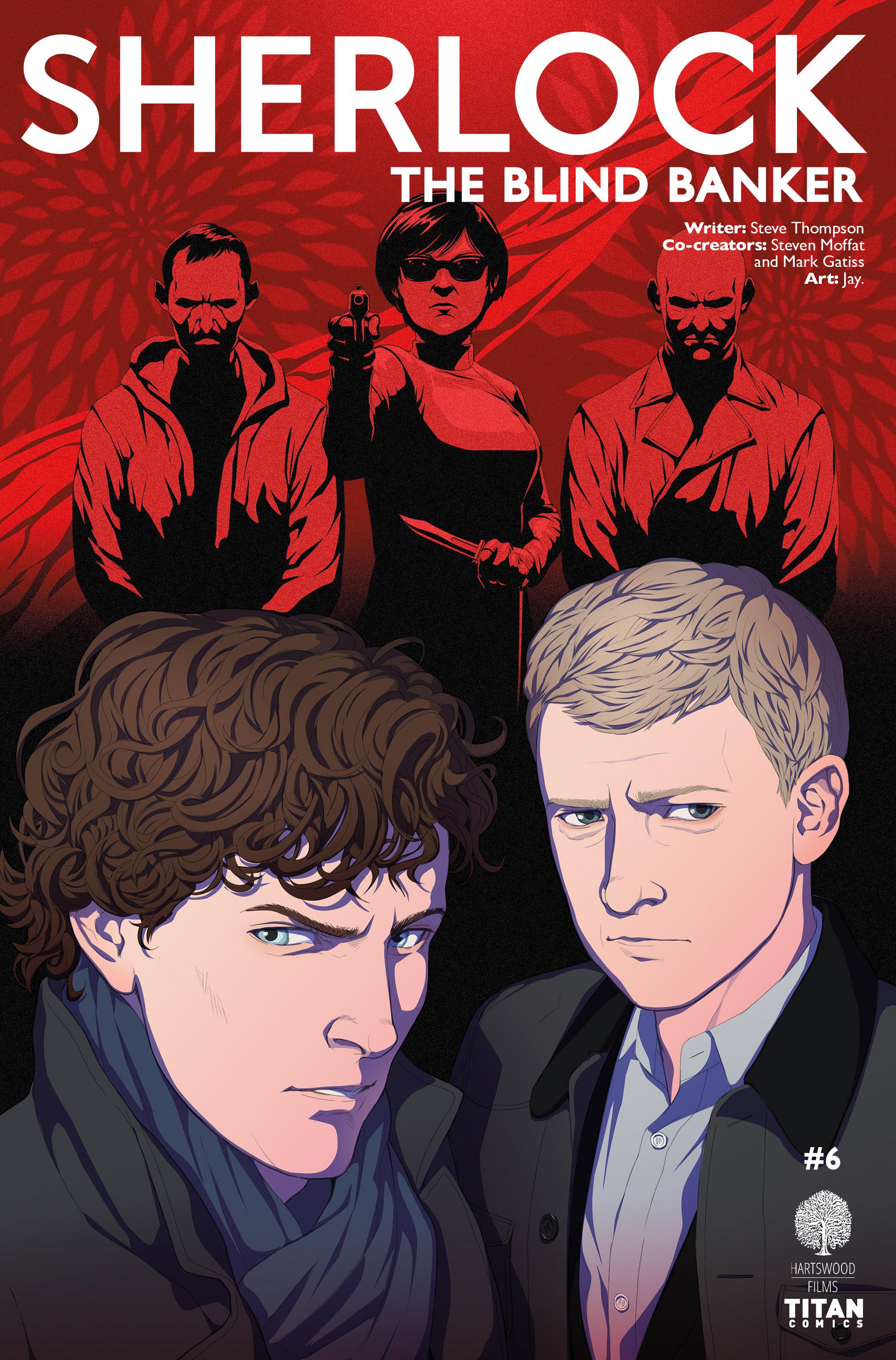 Read online Sherlock: The Blind Banker comic -  Issue #6 - 1