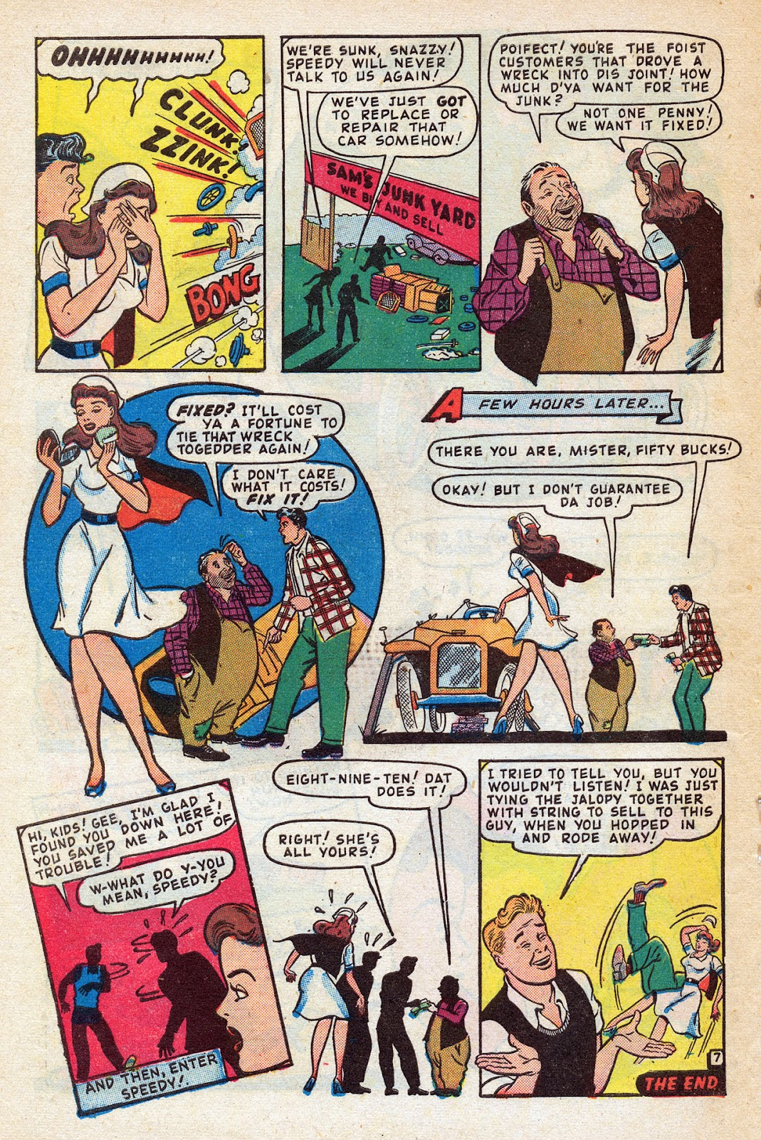 Read online Nellie The Nurse (1945) comic -  Issue #14 - 48