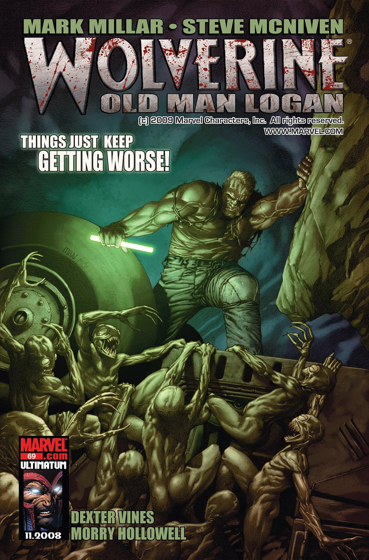 Read online Wolverine: Old Man Logan comic -  Issue # Full - 70