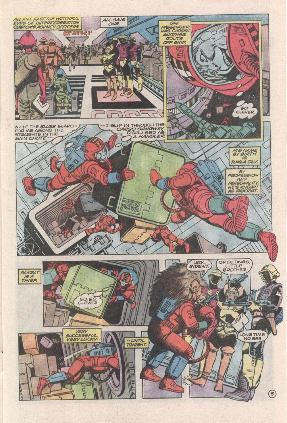 Read online Atari Force (1984) comic -  Issue #3 - 6