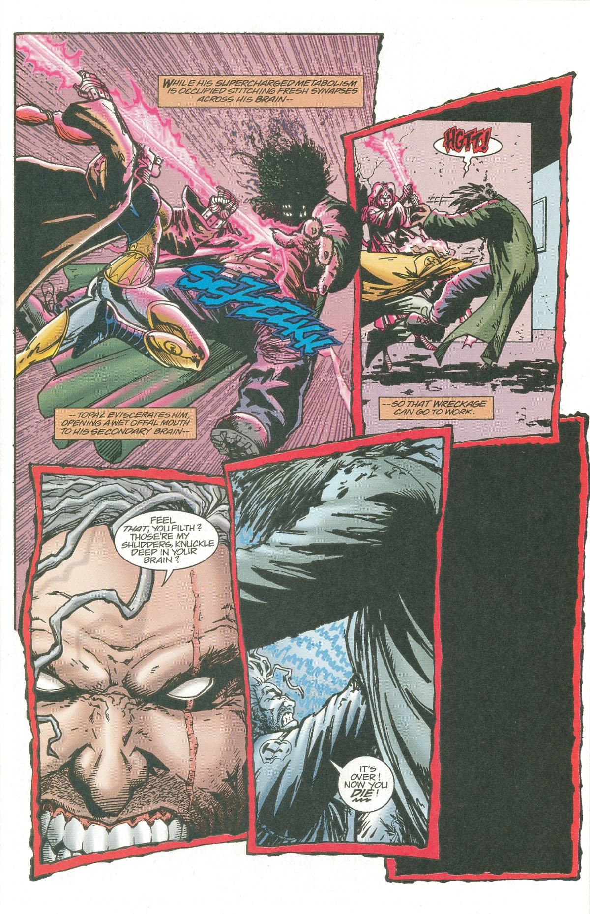Read online UltraForce (1995) comic -  Issue #7 - 12