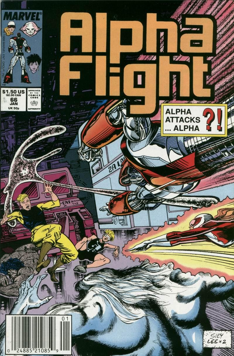 Read online Alpha Flight (1983) comic -  Issue #66 - 1