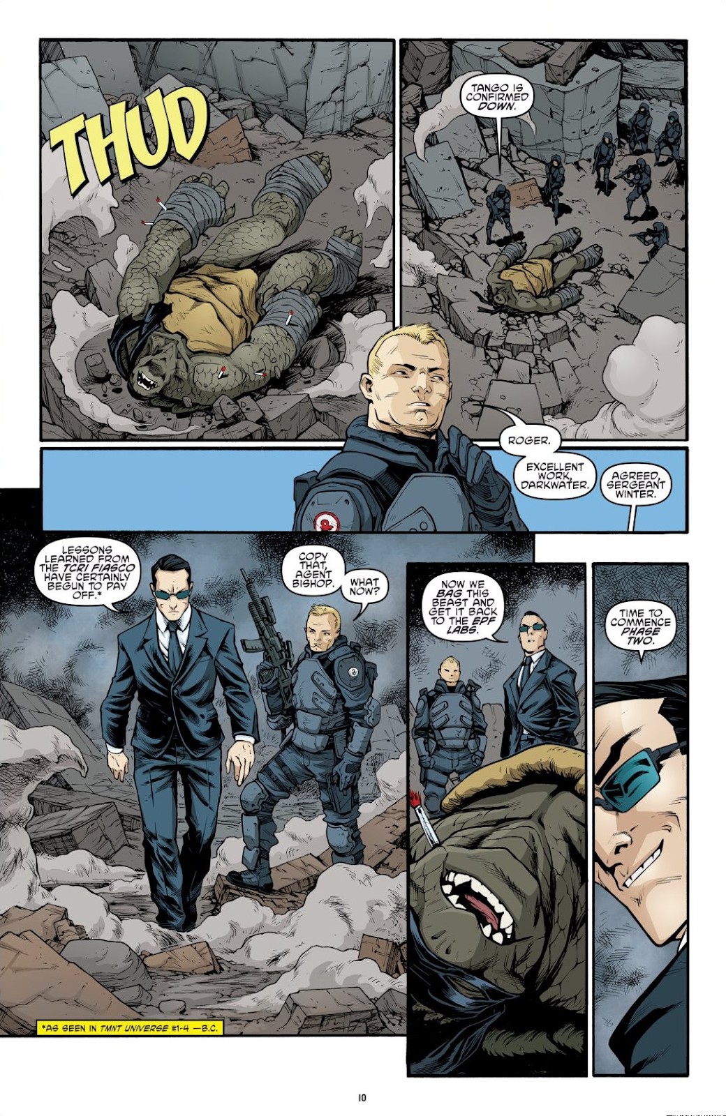 Read online Teenage Mutant Ninja Turtles: The IDW Collection comic -  Issue # TPB 9 (Part 1) - 11