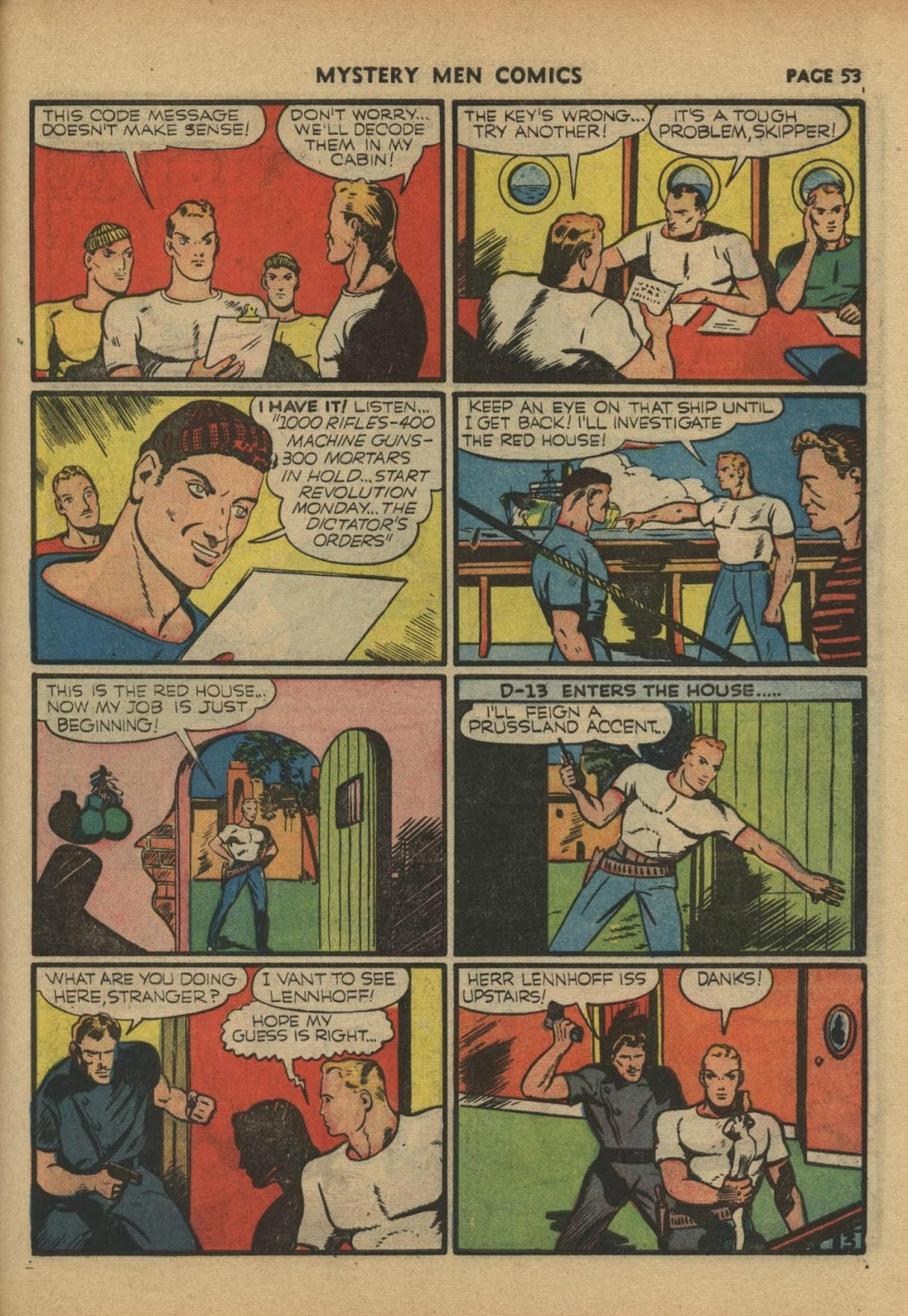 Mystery Men Comics issue 17 - Page 55