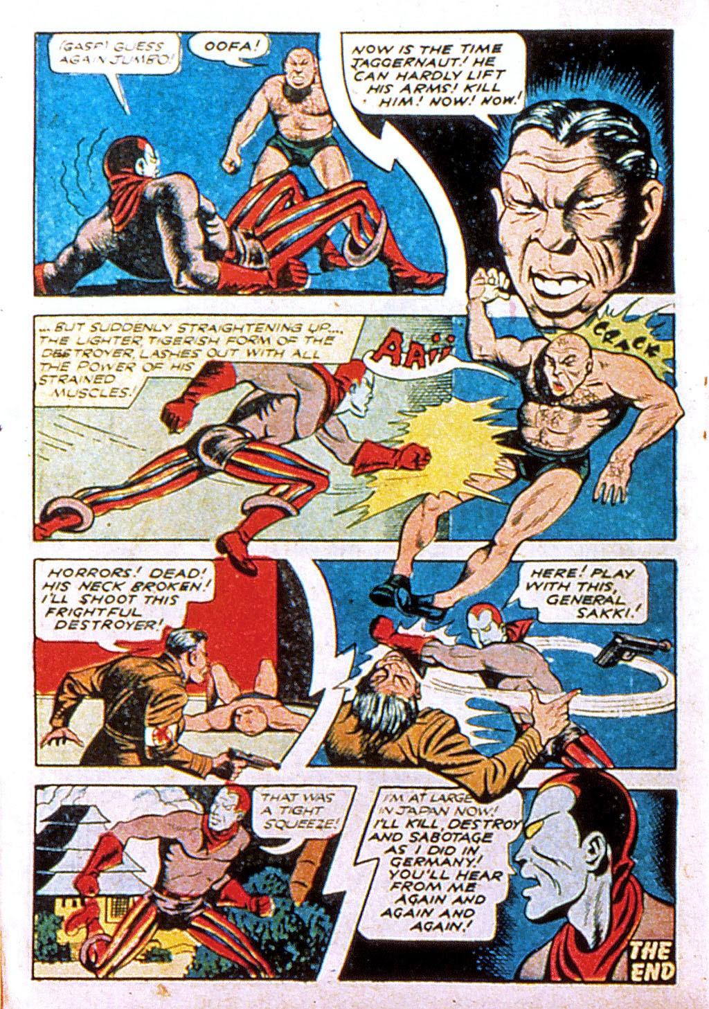 Read online Mystic Comics (1944) comic -  Issue #1 - 34