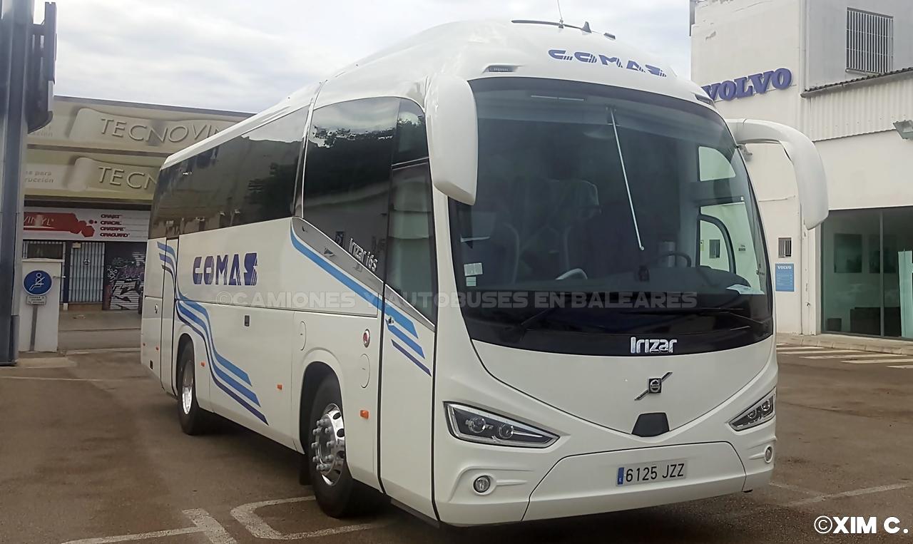 Camiones y autobuses en baleares irizar i6s volvo - Transporte islas baleares ...