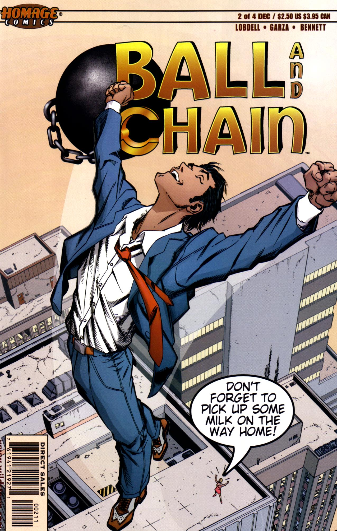 Read online Ball and Chain comic -  Issue #2 - 1