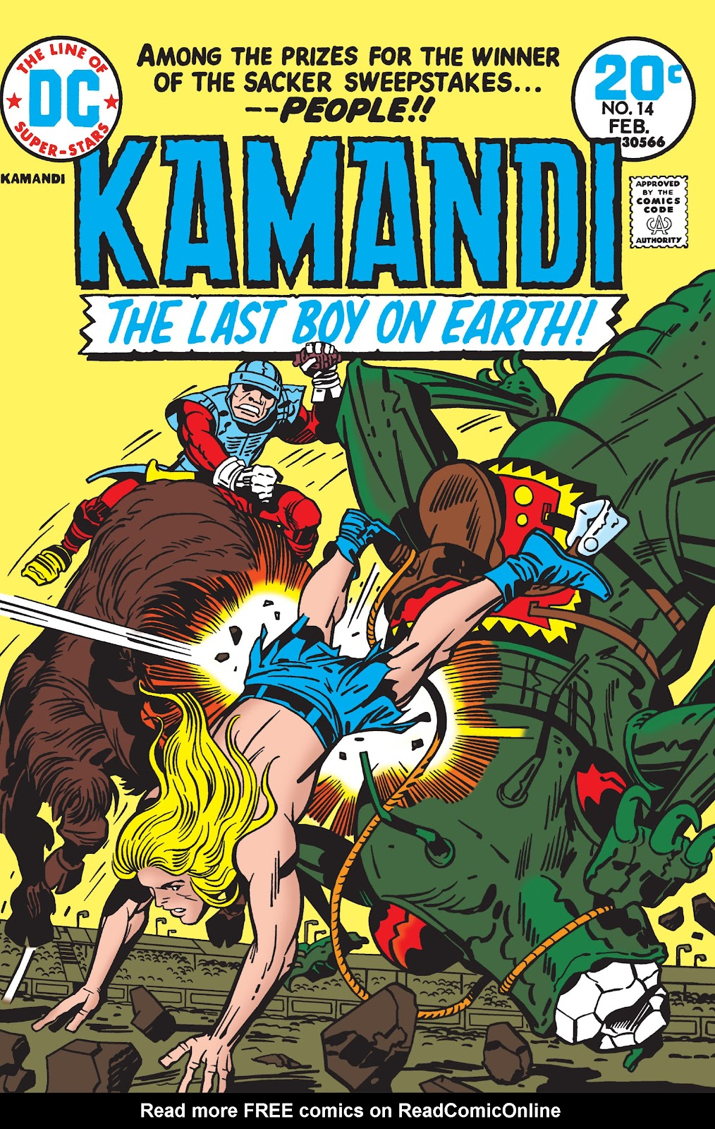Kamandi, The Last Boy On Earth issue 14 - Page 1