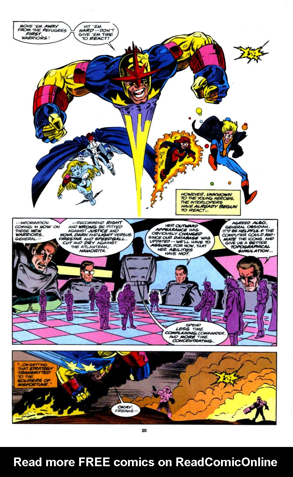 The New Warriors Issue #54 #58 - English 16