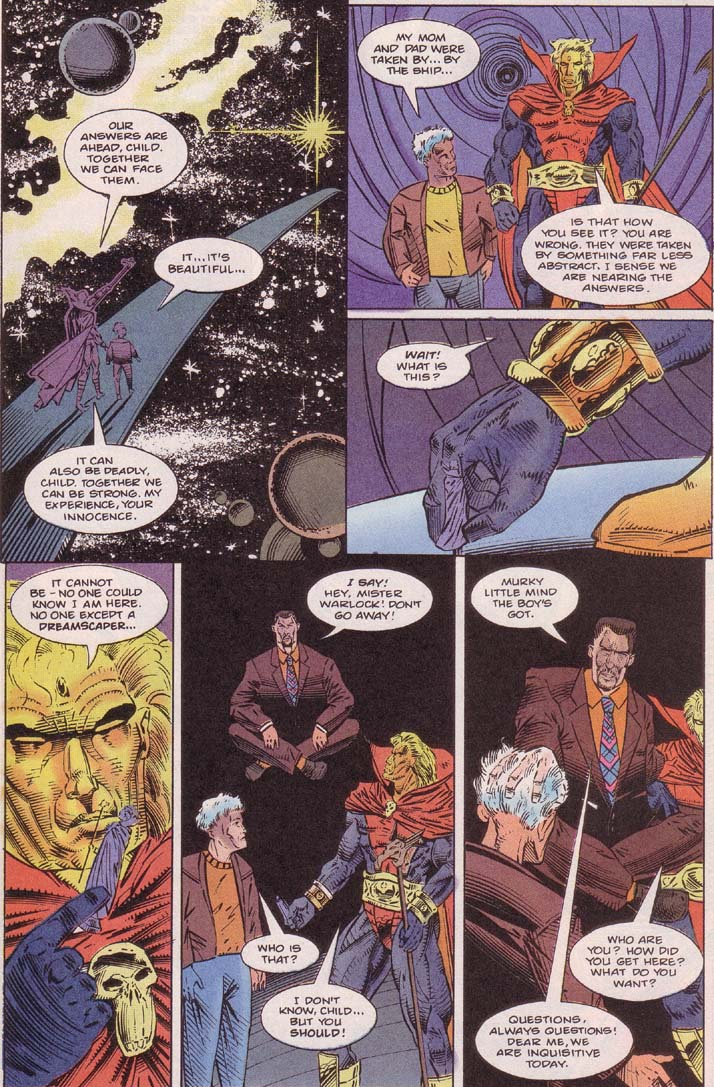 Read online Cyberspace 3000 comic -  Issue #7 - 8