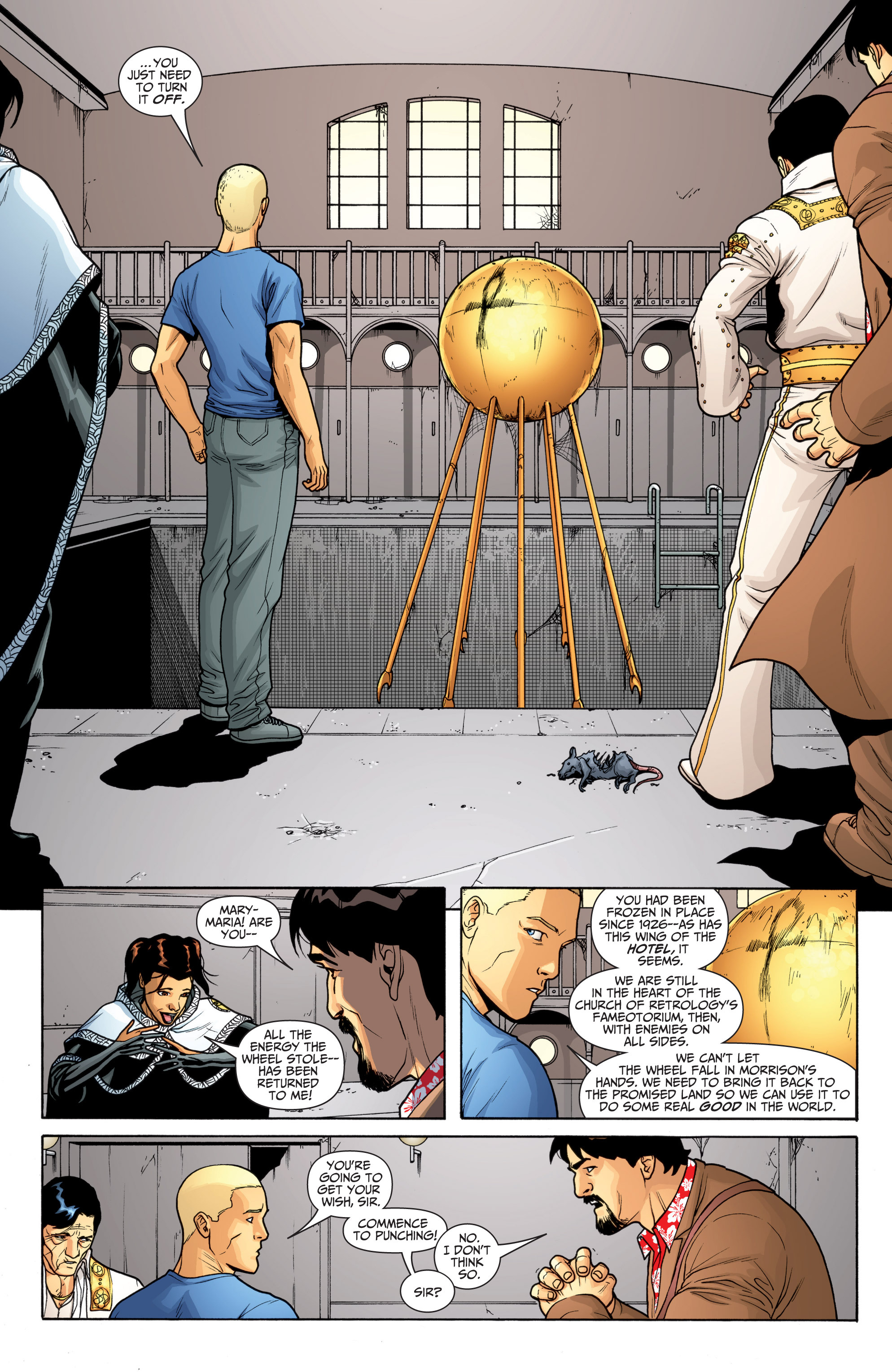 Read online Archer and Armstrong comic -  Issue #Archer and Armstrong _TPB 6 - 64