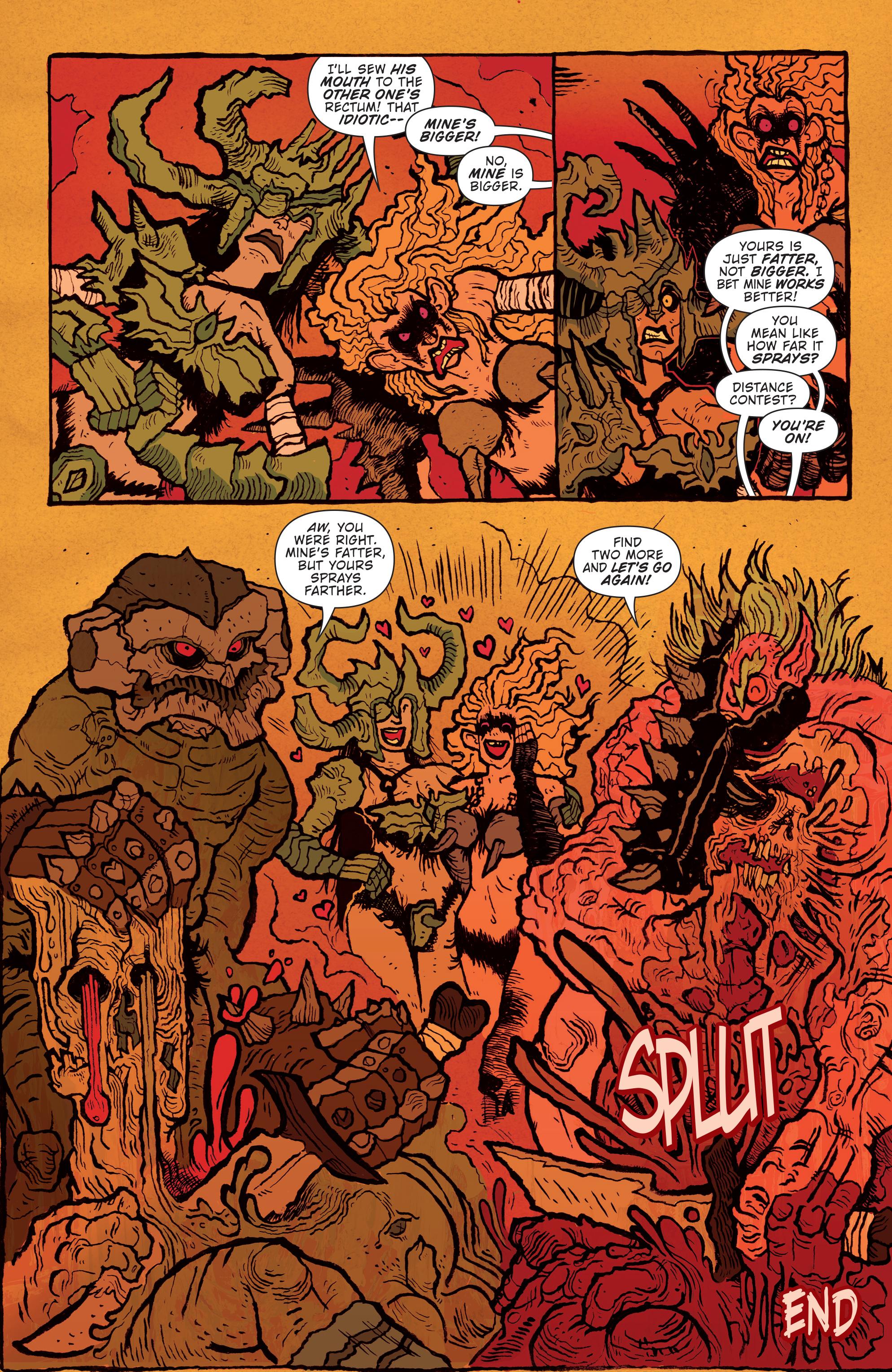 Read online Gwar: Orgasmageddon comic -  Issue #1 - 26