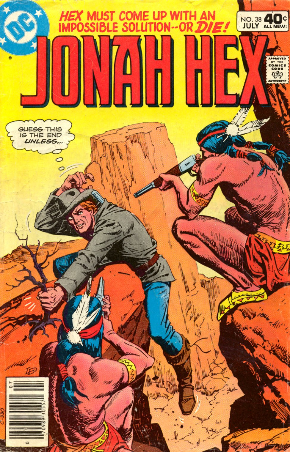 Jonah Hex (1977) 38 Page 1