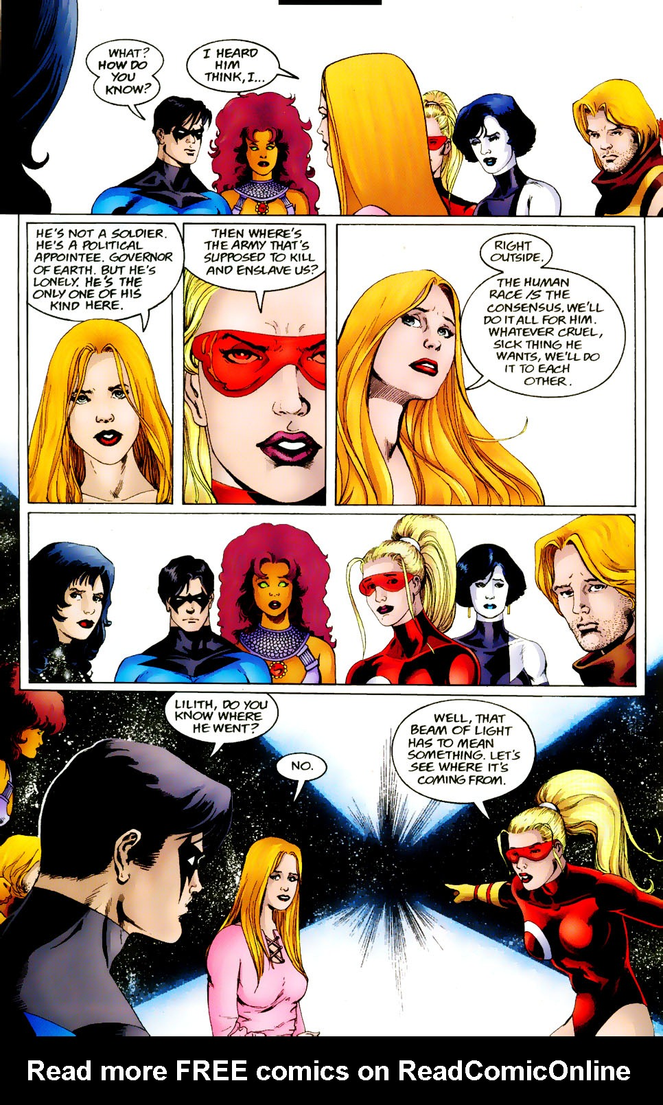 Read online The Titans (1999) comic -  Issue #50 - 18